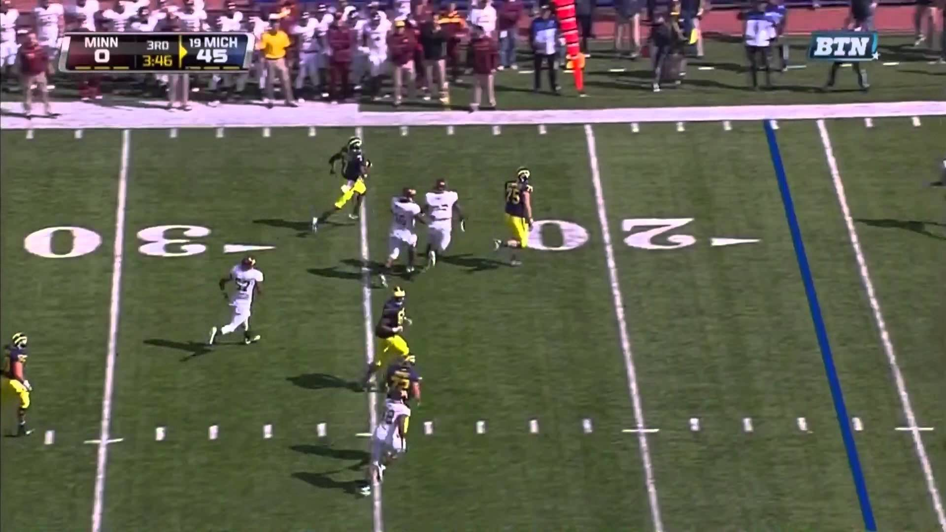 Michigan Wolverines Football: Devin Gardner- Only The Sideline Can Bring  Him Down-HD