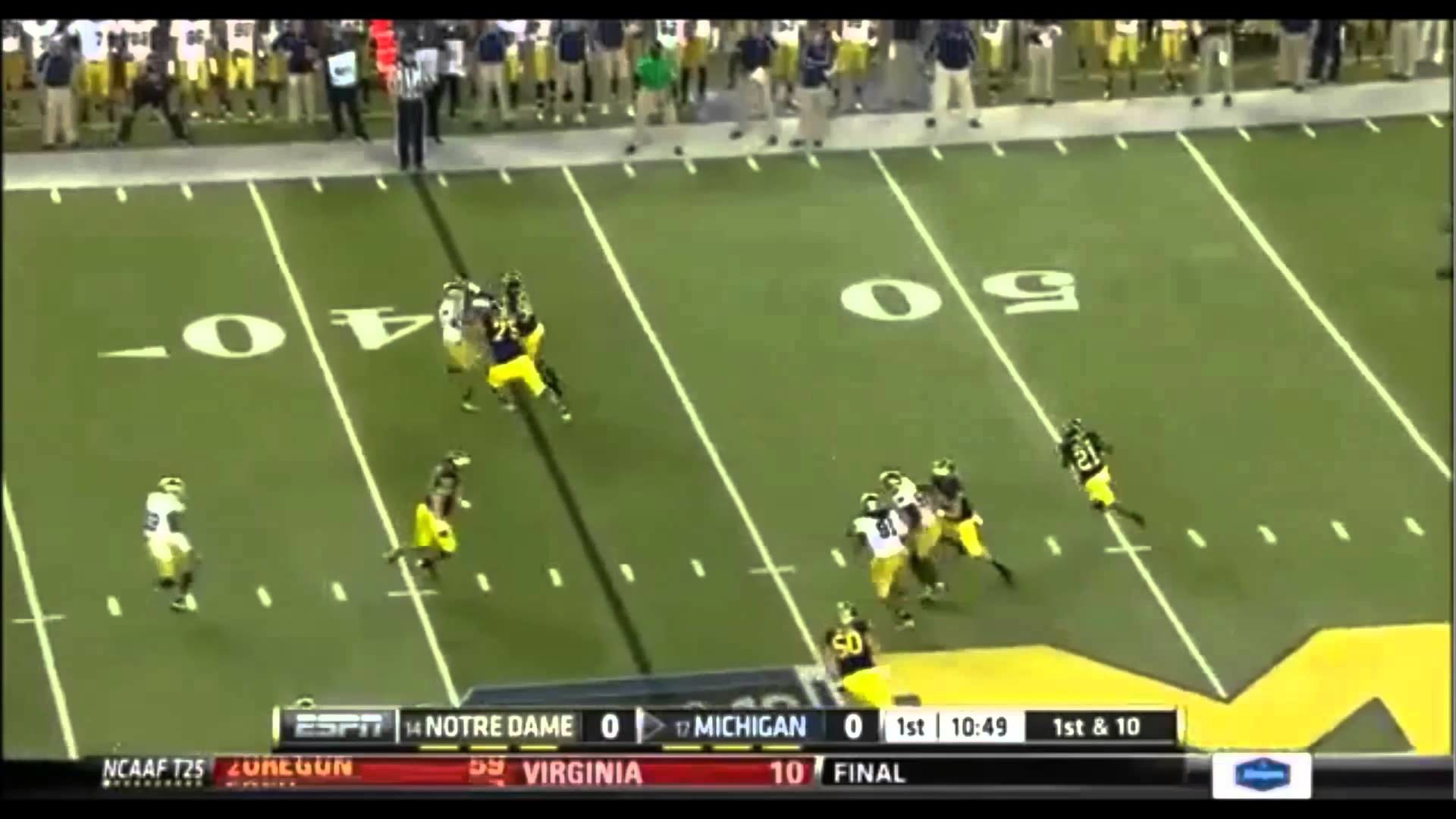 Michigan Wolverines Football – Team 135 Pump up