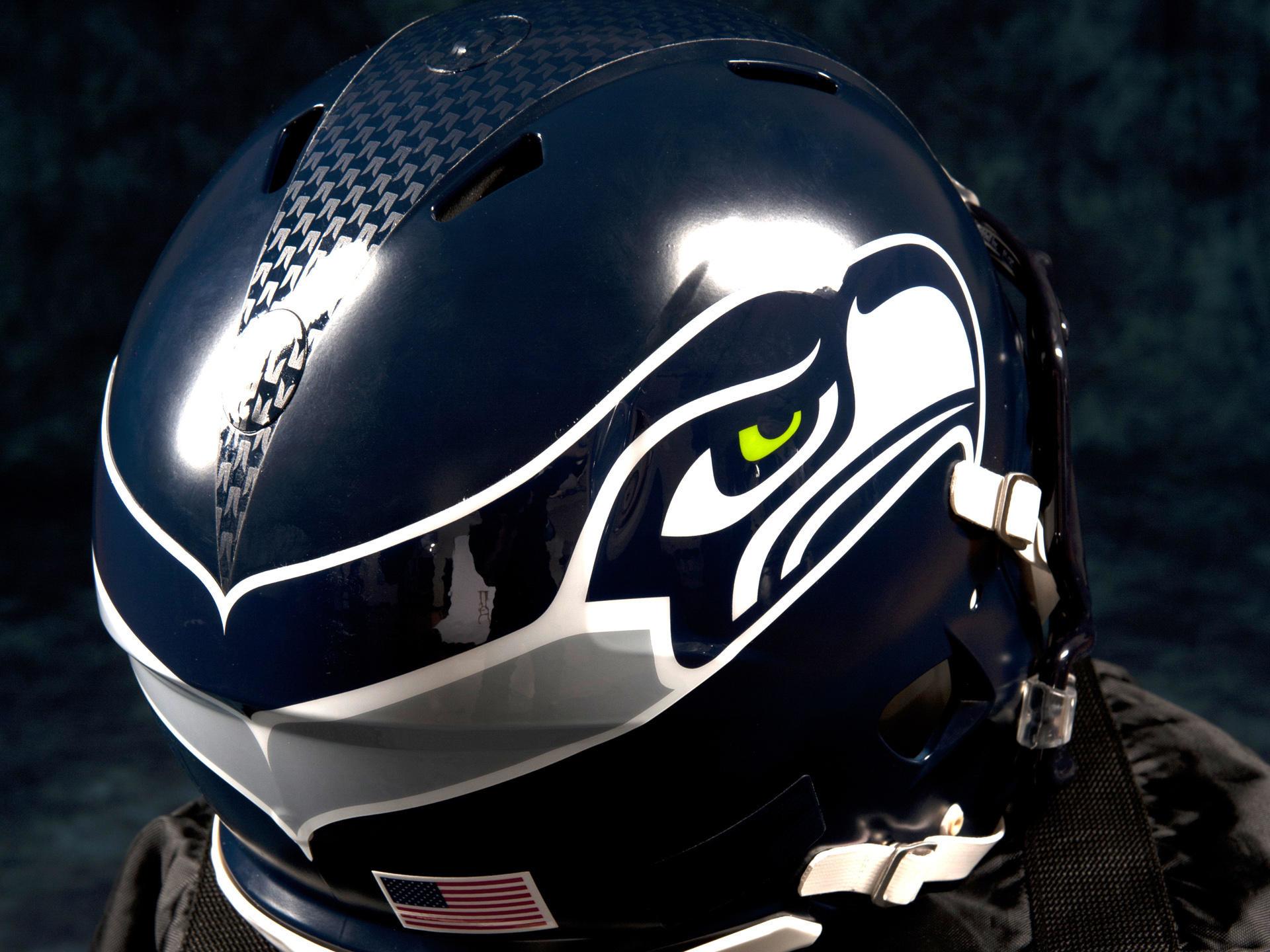 New Seahawks Helmet