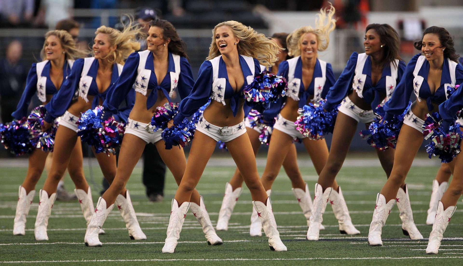 Cheerleaders, the 2nd Best Part of Football Season – Faded Industry .