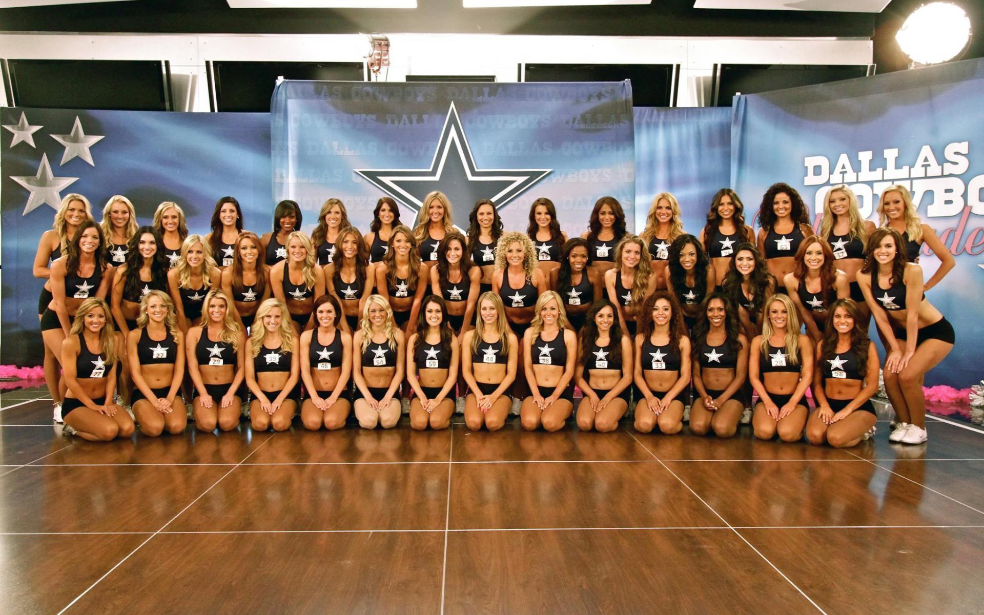 Dallas Cowboys Cheerleaders Wallpaper