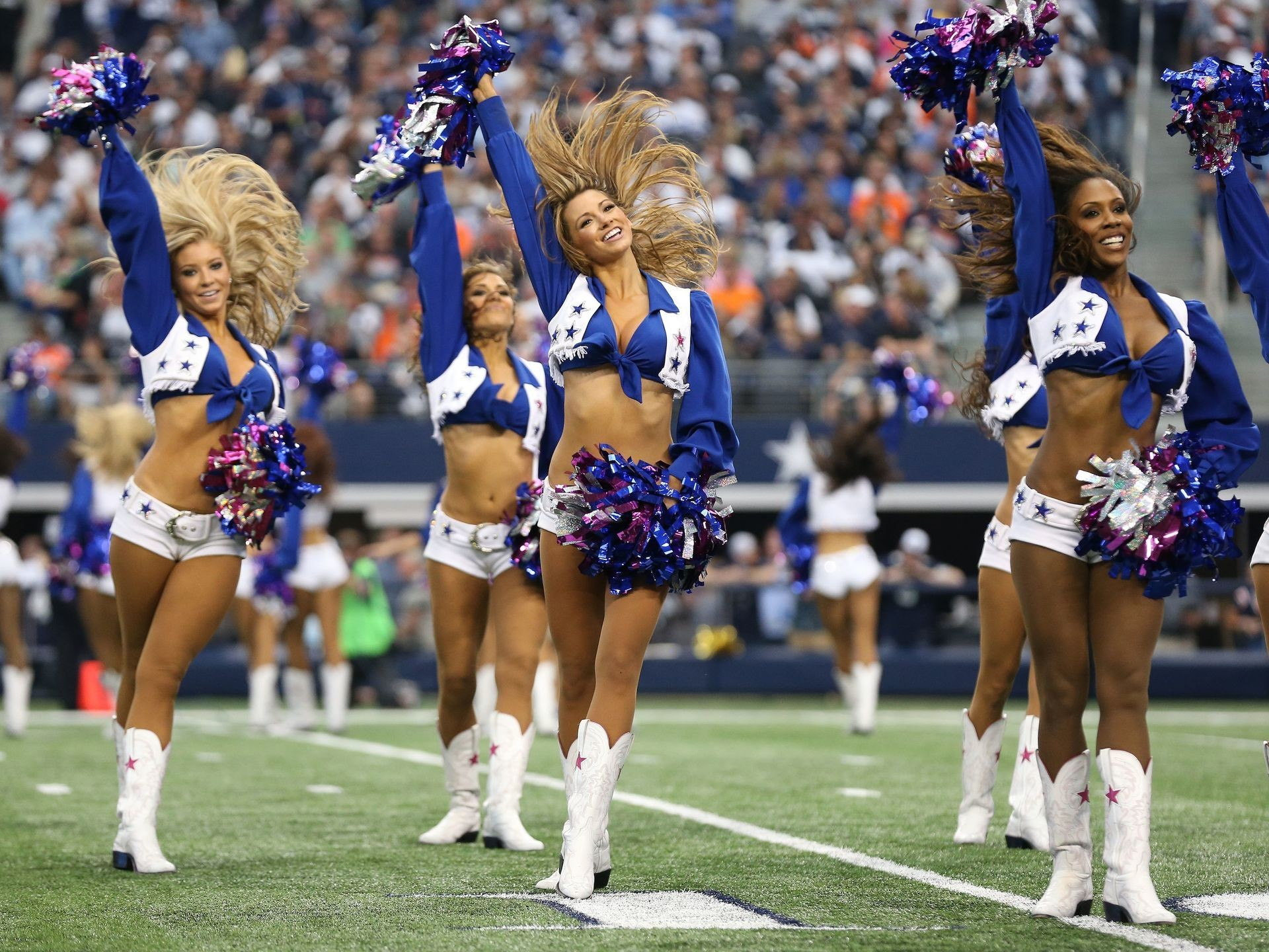A reporter recently asked the Dallas Cowboys cheerleaders and team members  where they like to hang