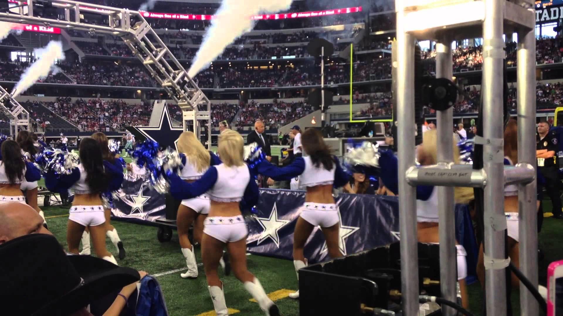 Dallas Cowboys & Cheerleaders Entrance 2013 Preseason Game Cowboys vs  Houston Texans – YouTube