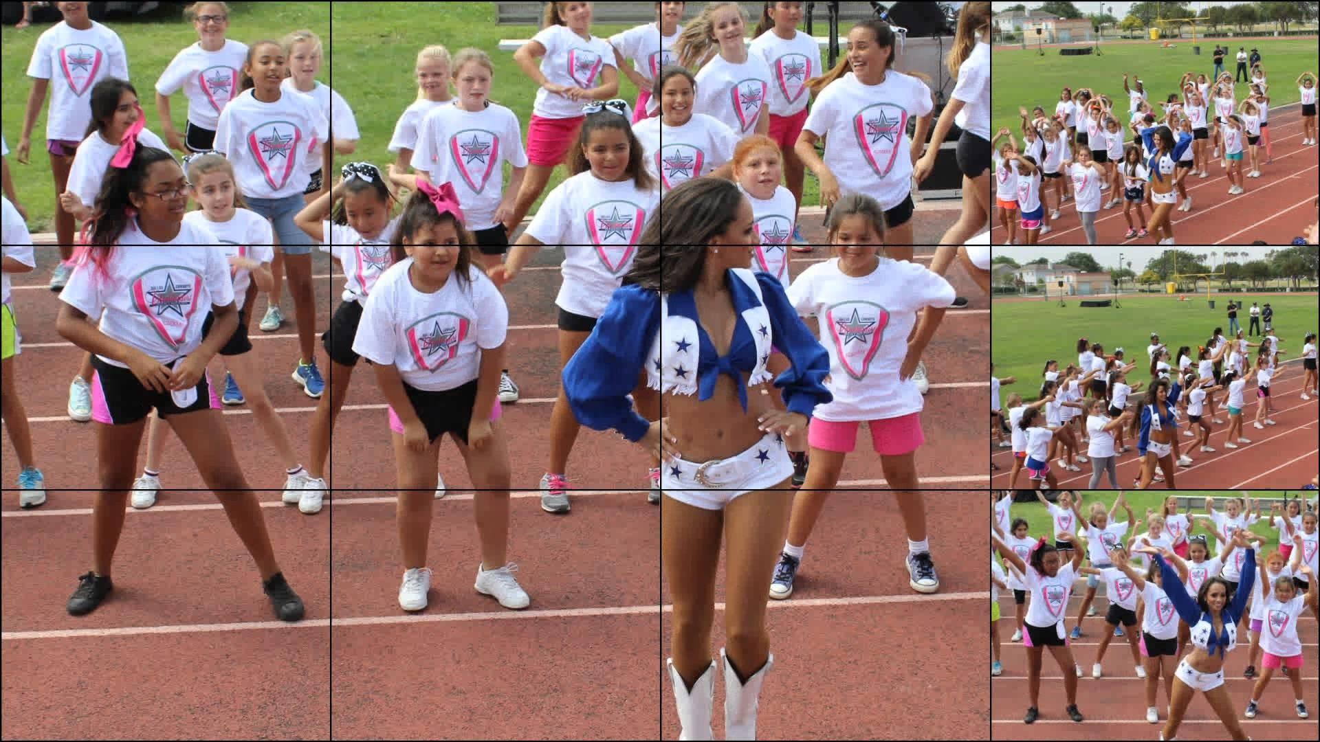 Oxnard Dallas Cowboys Cheerleader Camp
