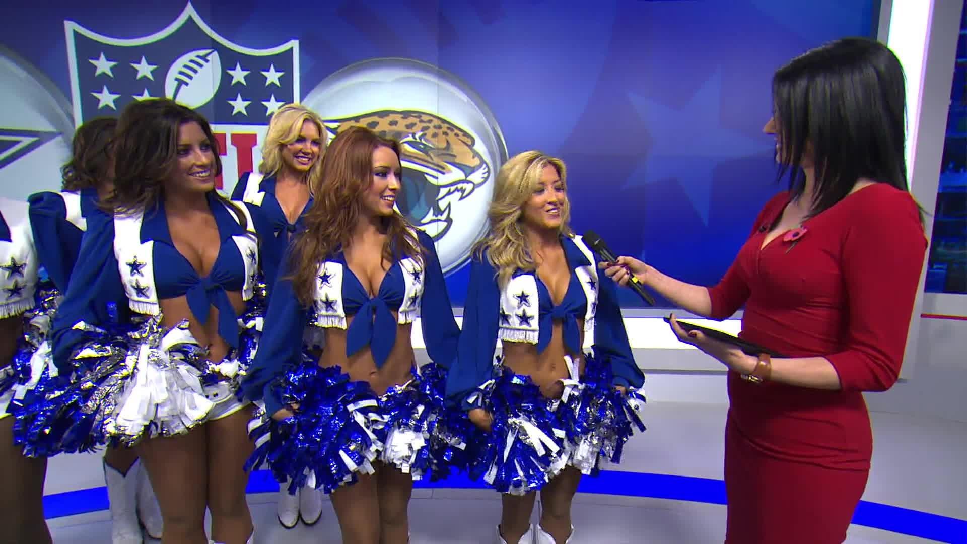 Cowboys cheerleaders on SSN HQ