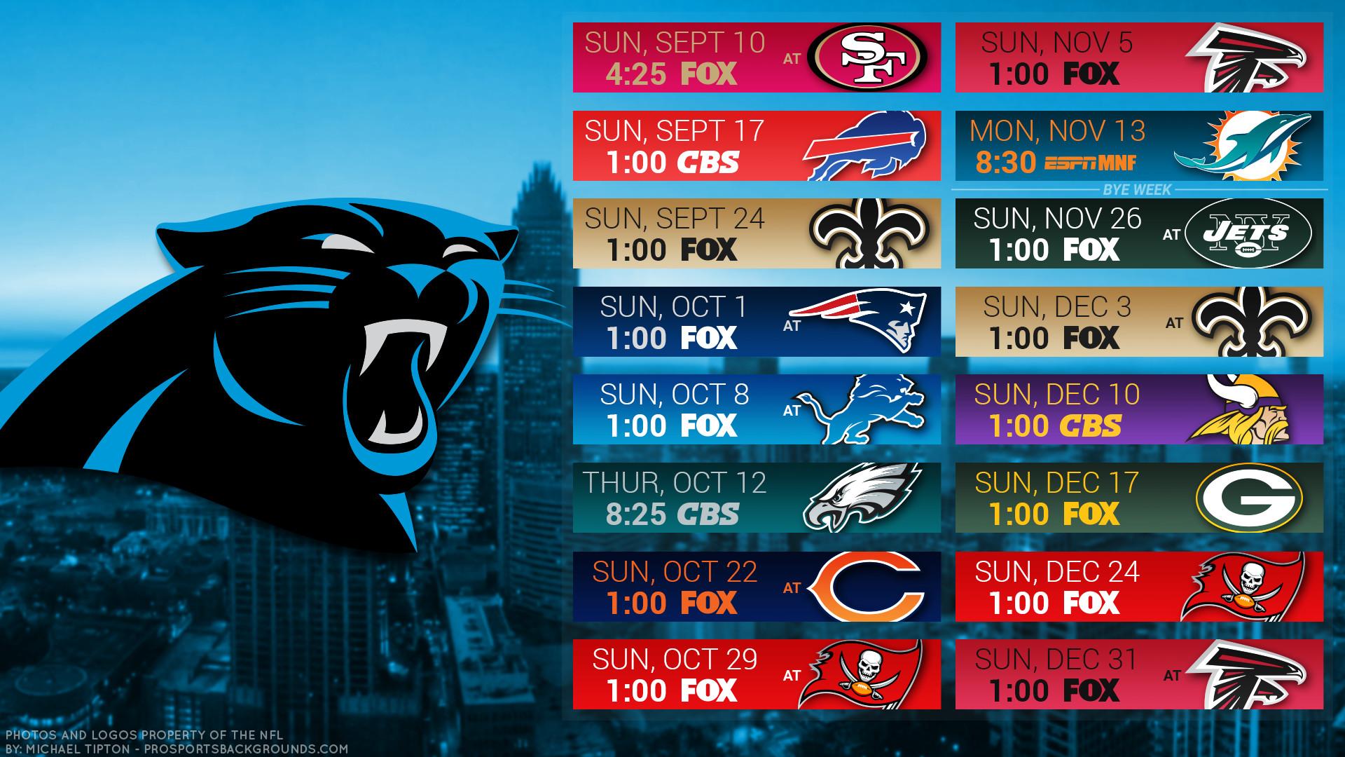 Carolina Panthers 2017 schedule city football logo wallpaper free pc  desktop computer …