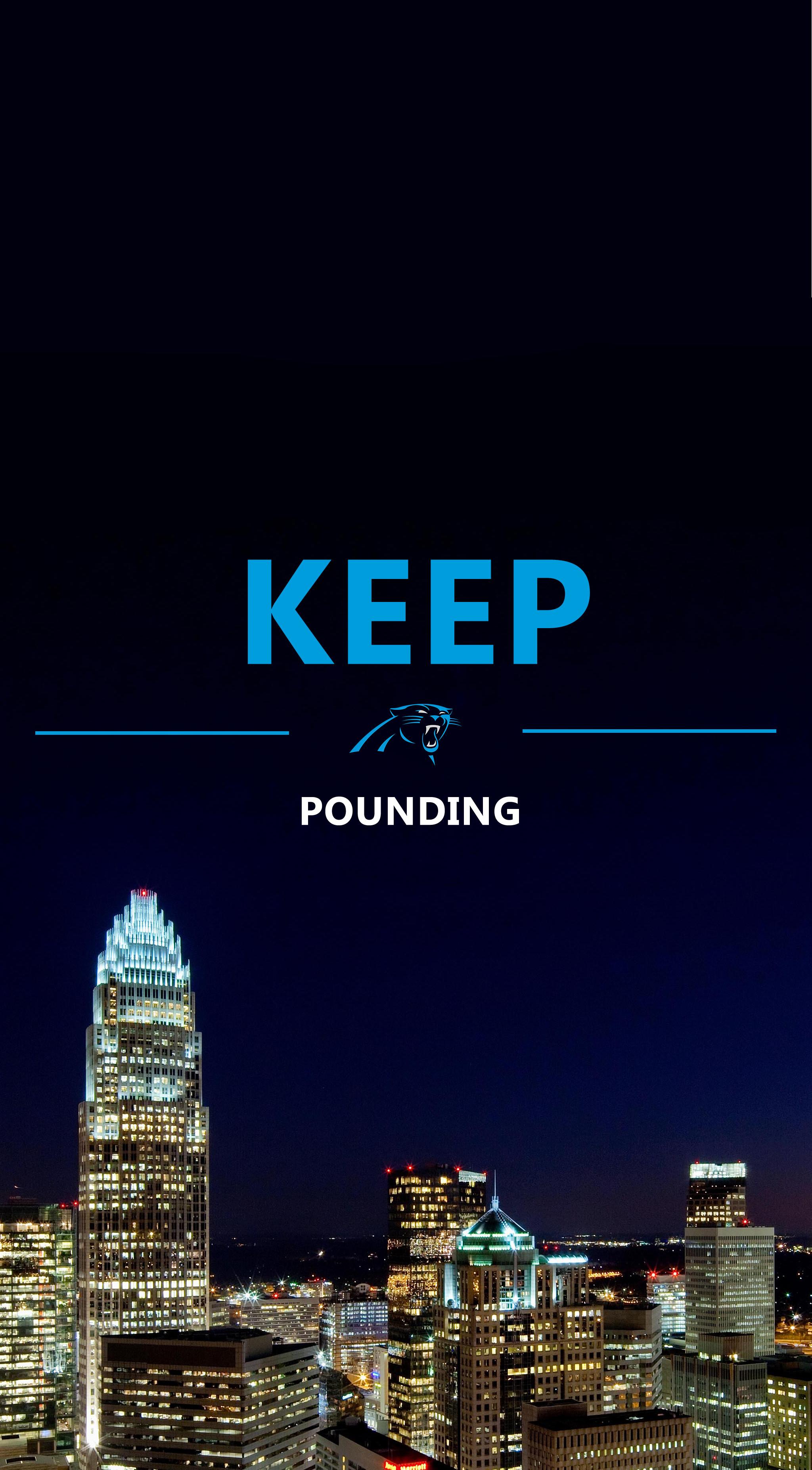 Carolina Panthers Phone Wallpaper