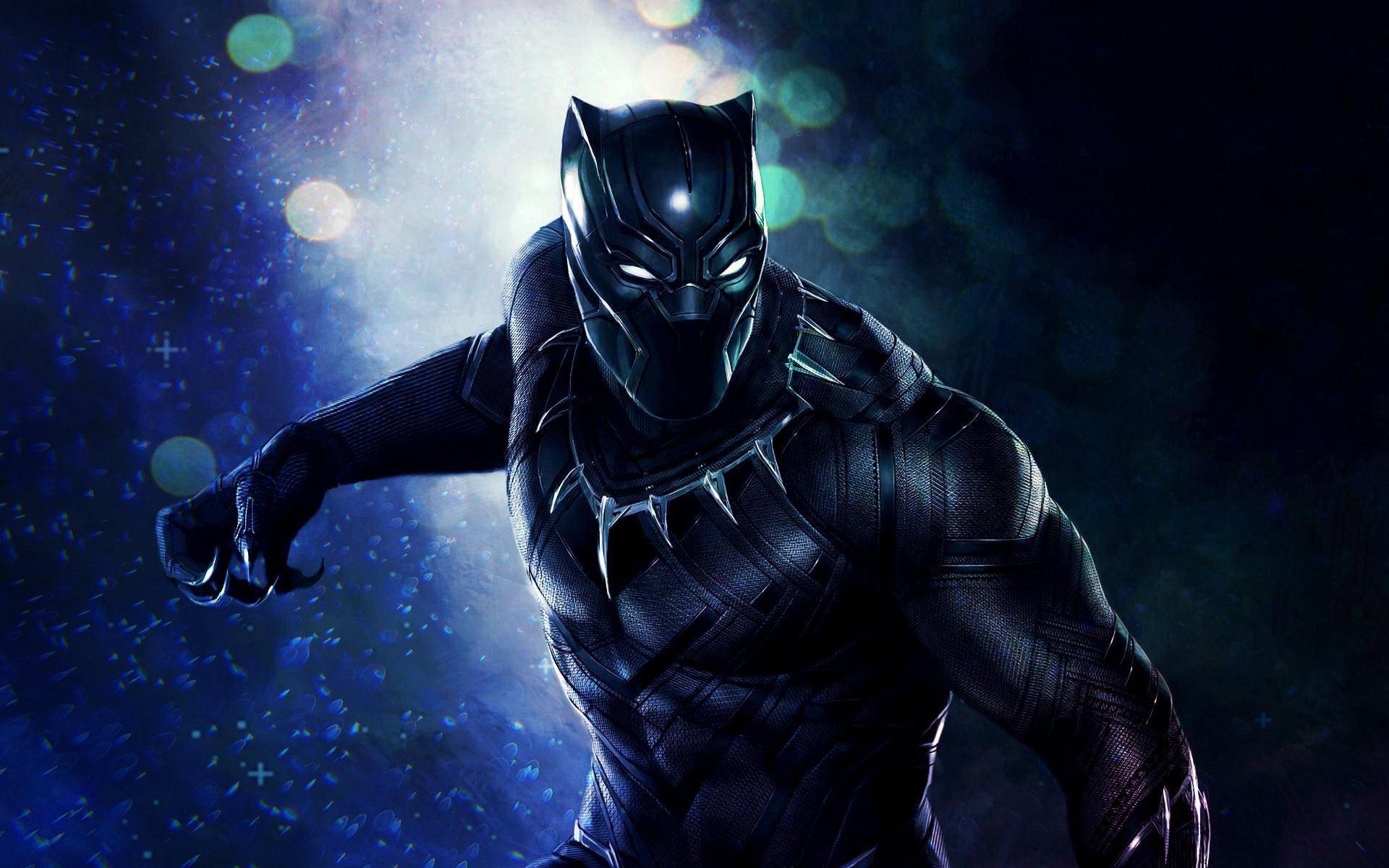 Black Panther 2017 Movie Desktop HD Wallpaper – Stylish HD Wallpapers