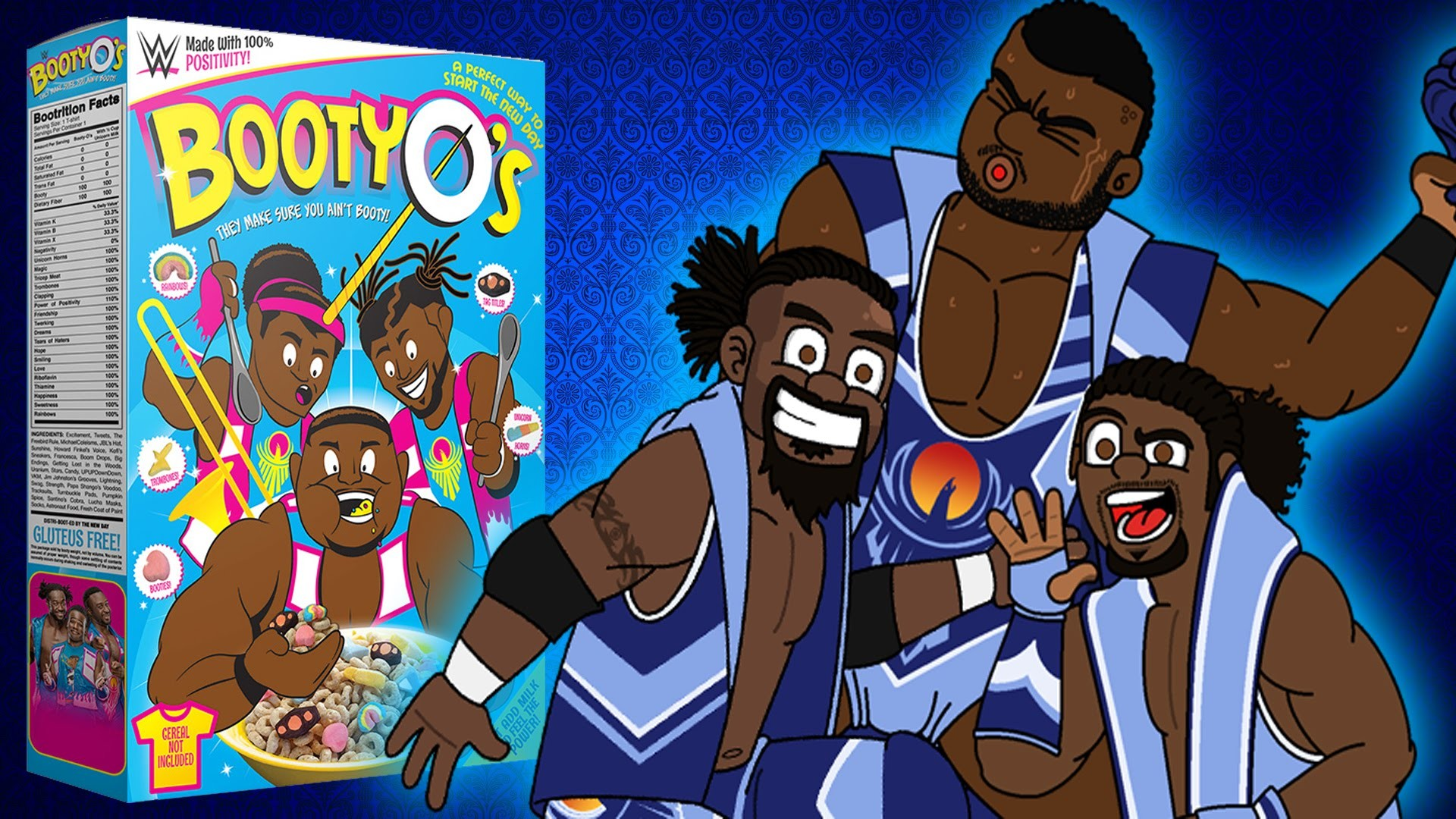 The New Day Booty-Os Wallpapers HD Pictures