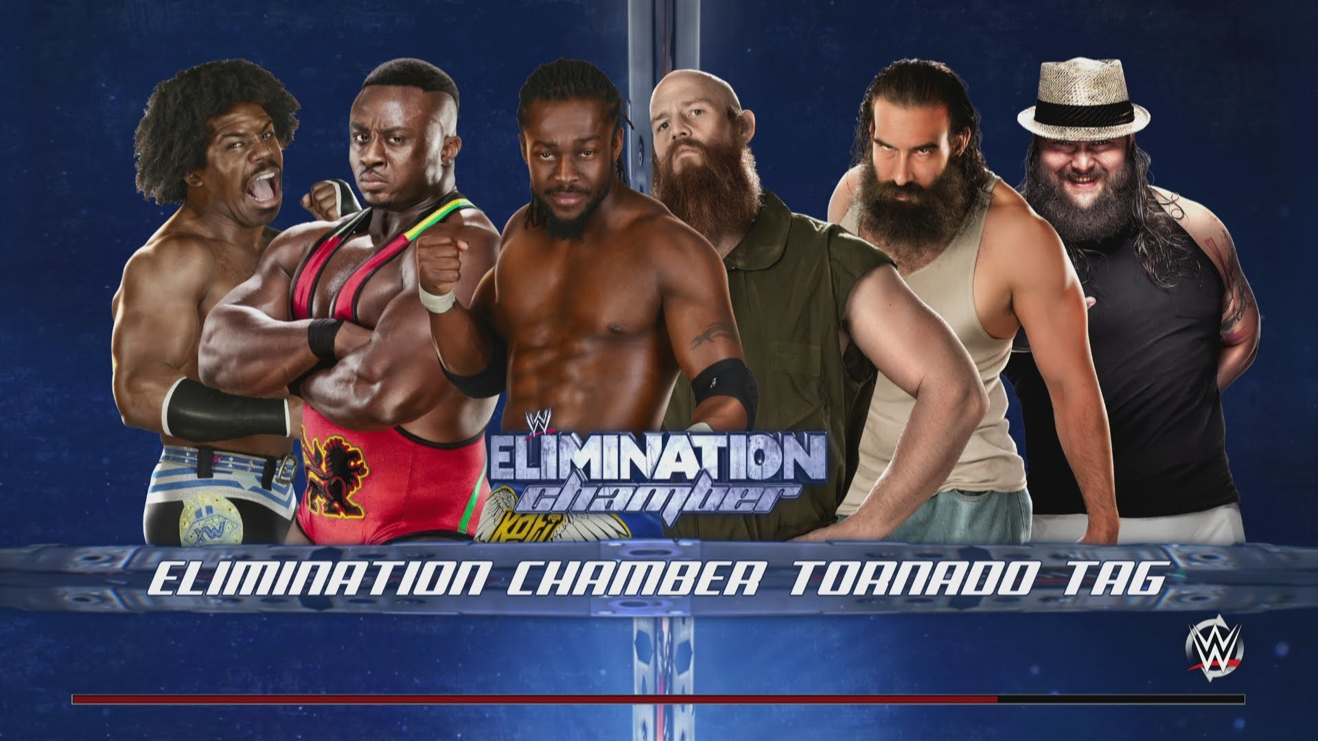 WWE 2K15 – The New Day vs. The Wyatt Family in the Elimination Chamber –  YouTube