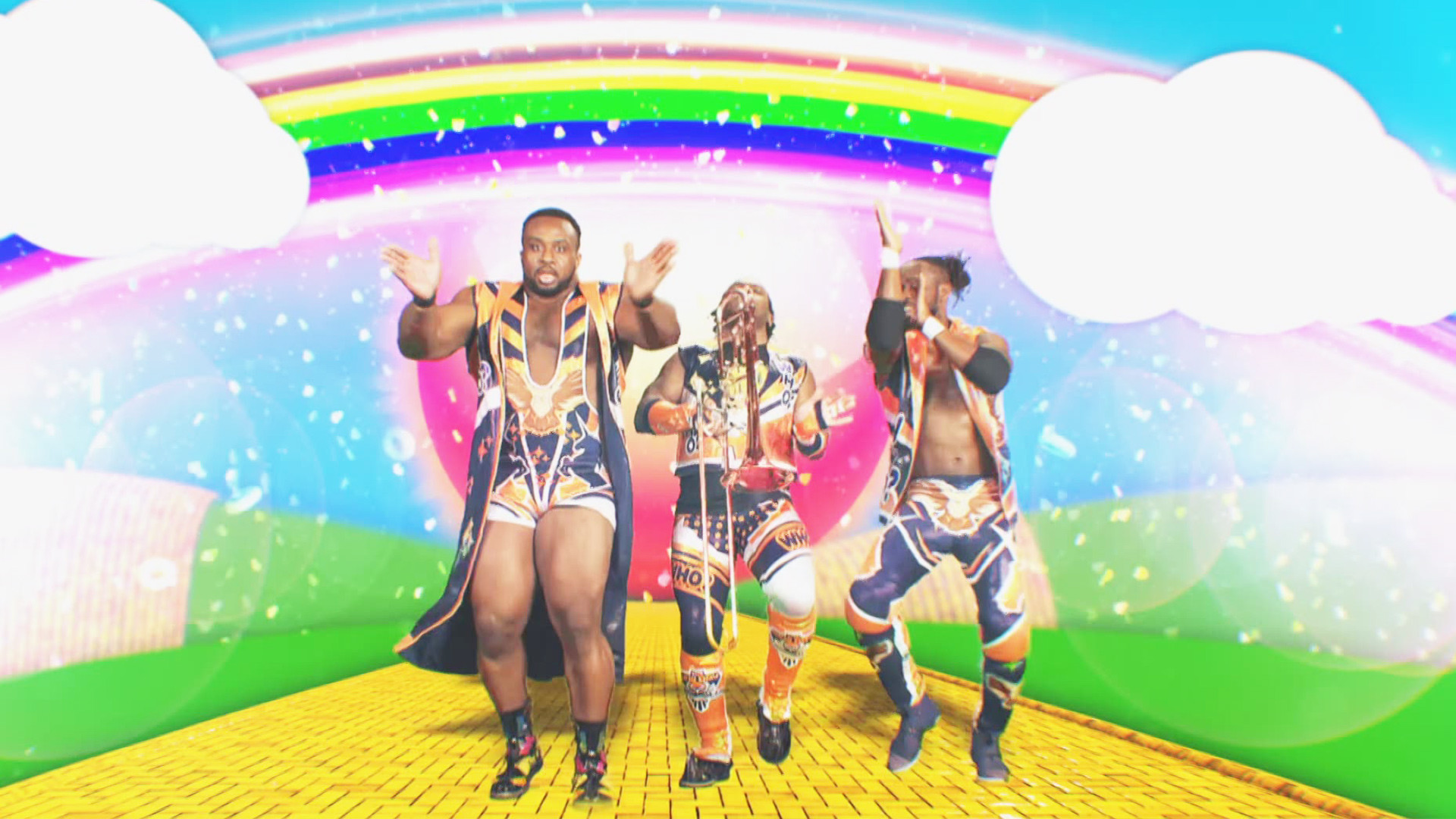 The New Day is coming to the Team Blue: SmackDown LIVE, April 11, 2017   WWE