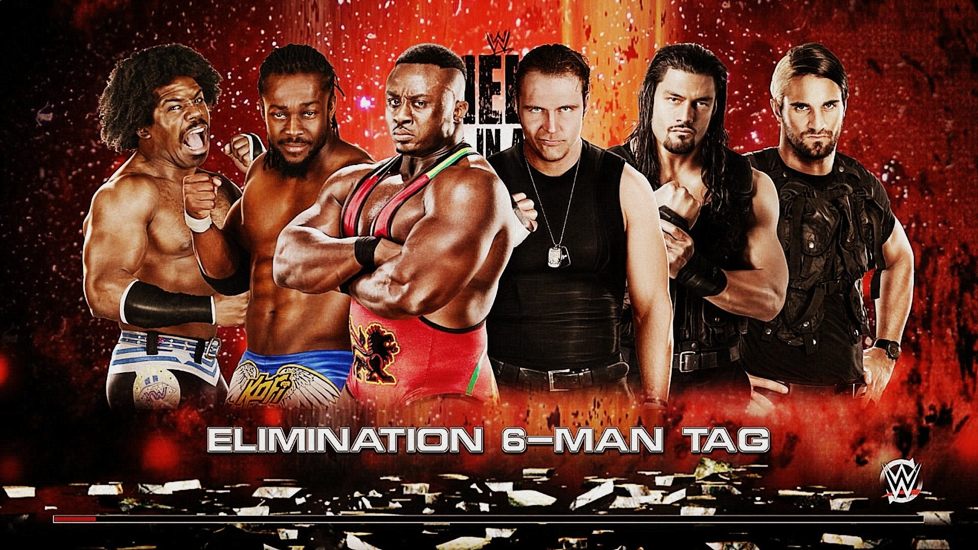 Elimination 6 Man Tag Match, The New Day vs The Shield [WWE 2K15] – YouTube