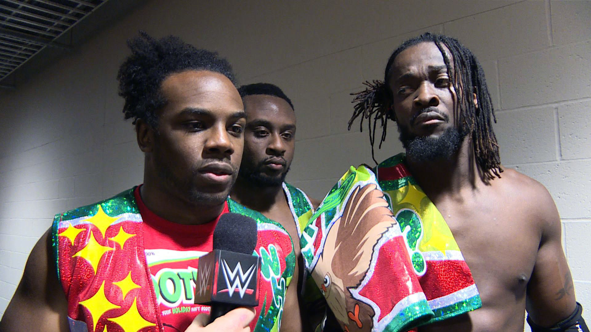 WWE Tag Team Champions The New Day vs. The League of Nations' Sheamus &  King Barrett   WWE