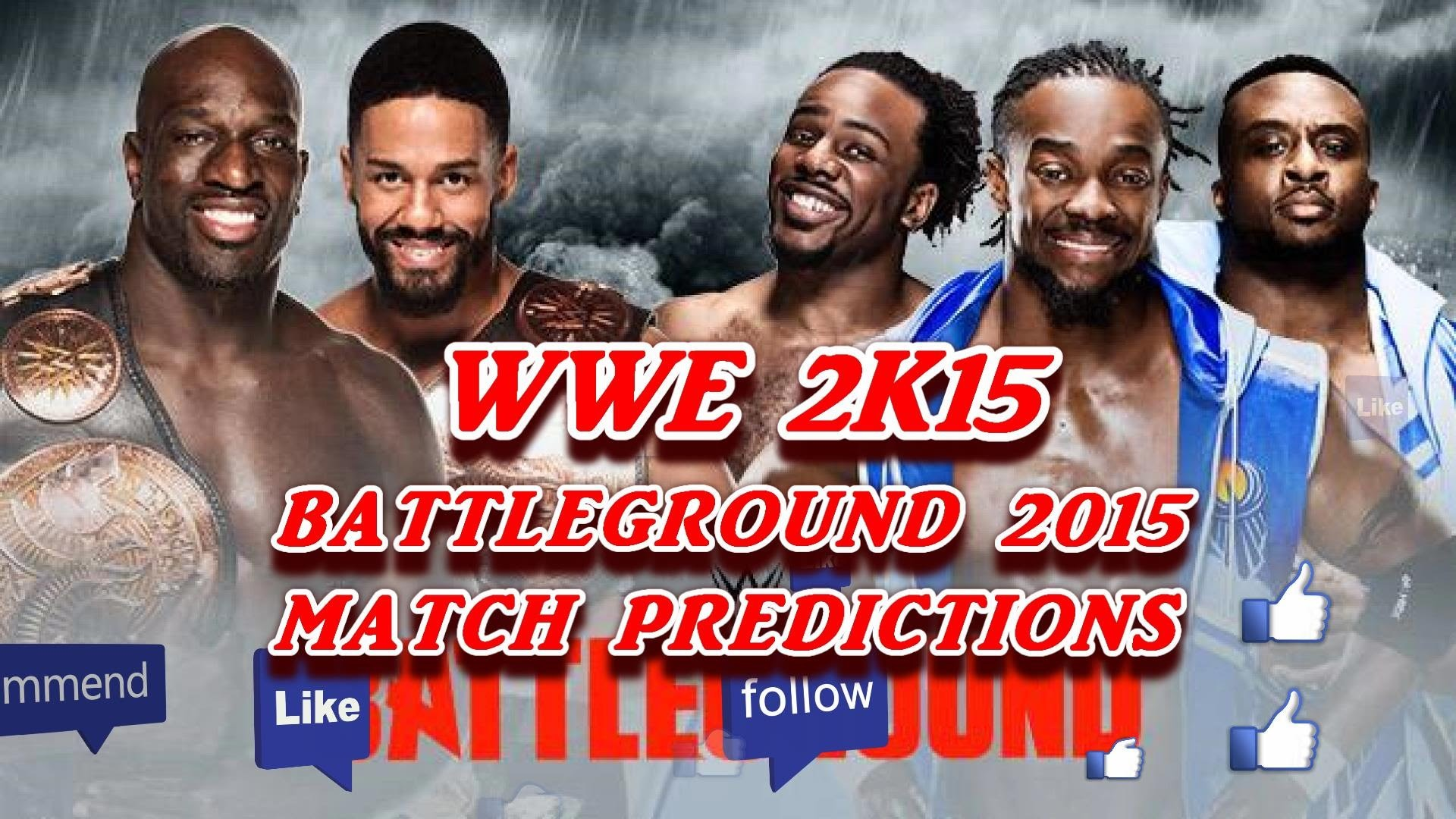 WWE Battleground 2015: Tag Team Championship, The New Day vs. The Primetime  Players (Predictions) – YouTube