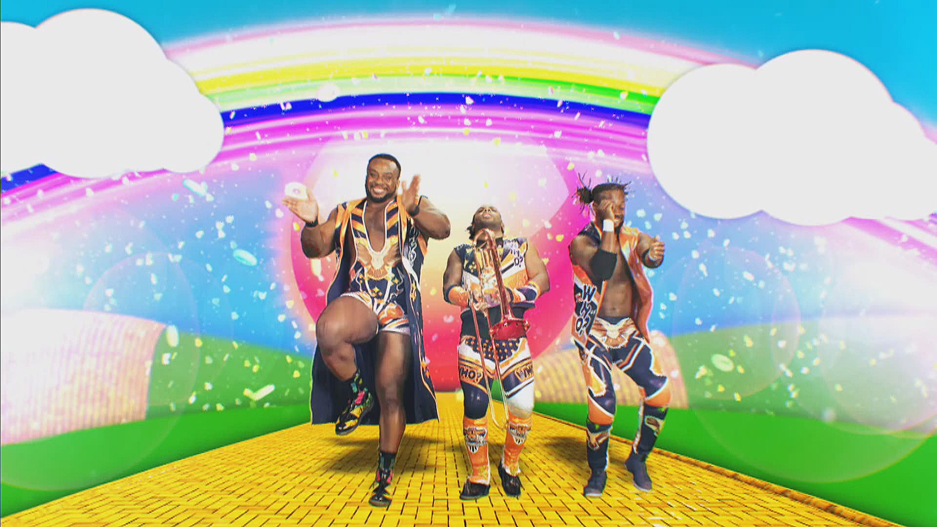The New Day is coming soon to SmackDown: SmackDown LIVE, April 25, 2017    WWE