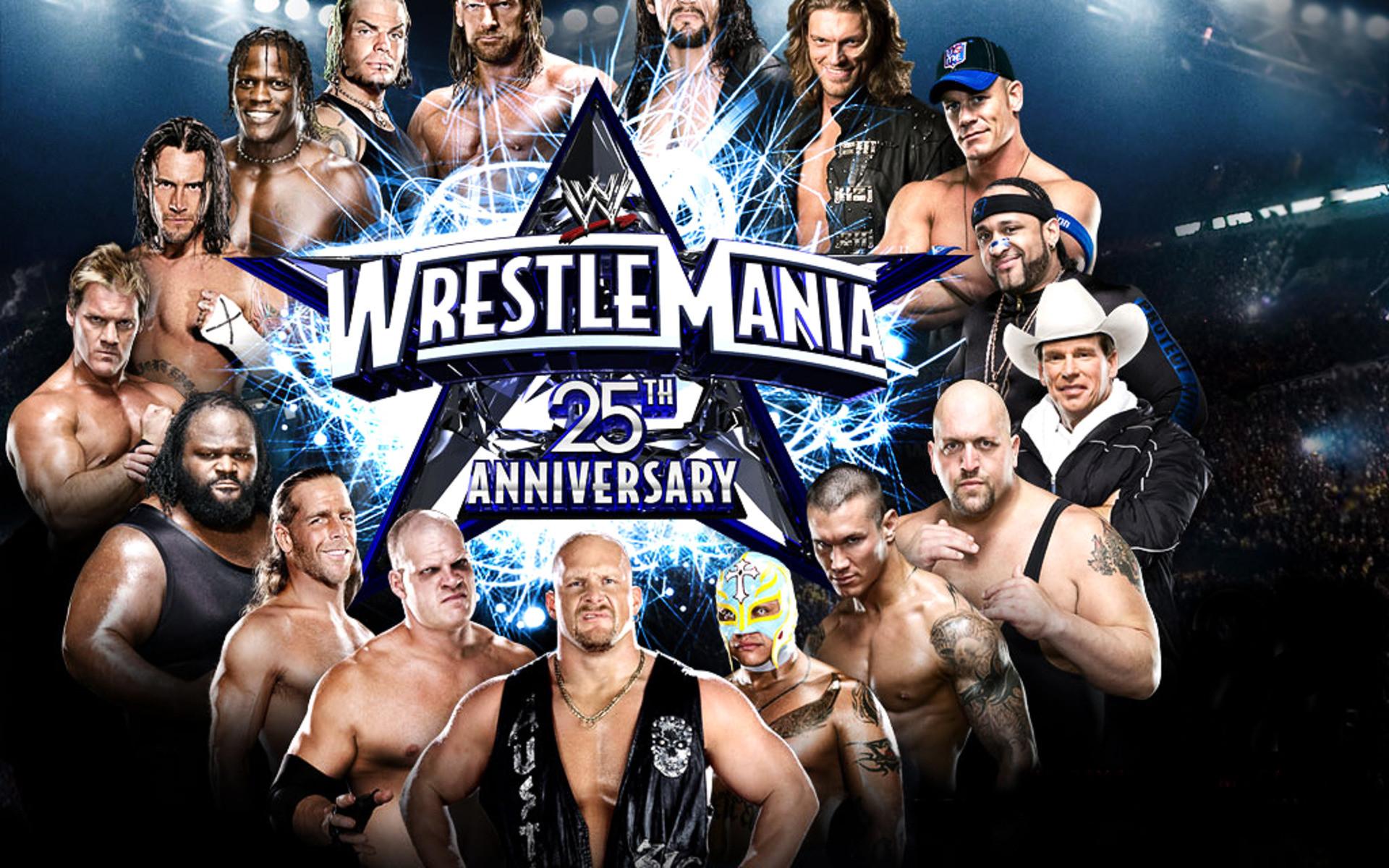 WWE Wrestling Wrestle Mania WIDE Wrestling WWE