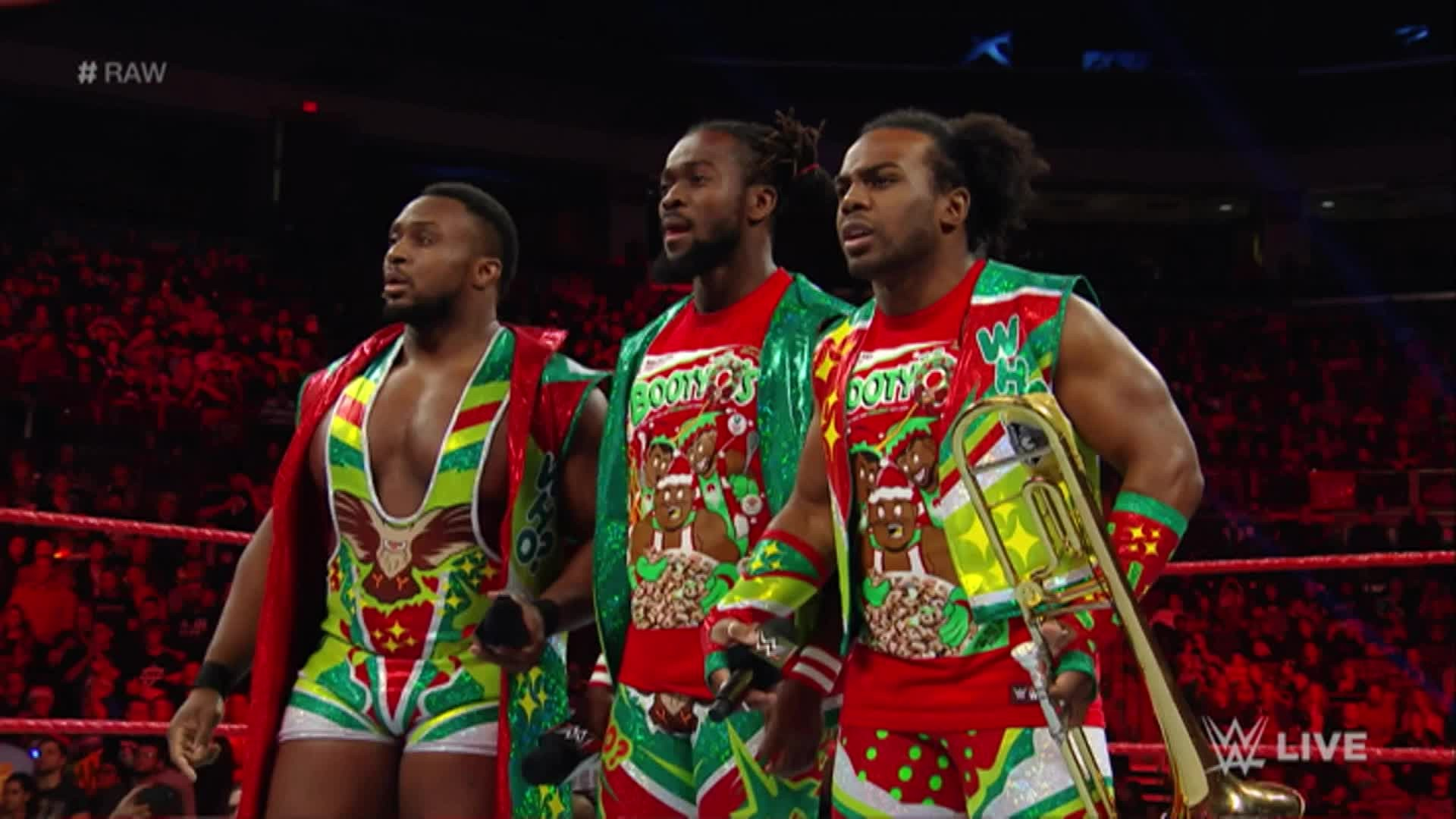 The New Day congratulated Sheamus and Cesaro – well, one of them at least –