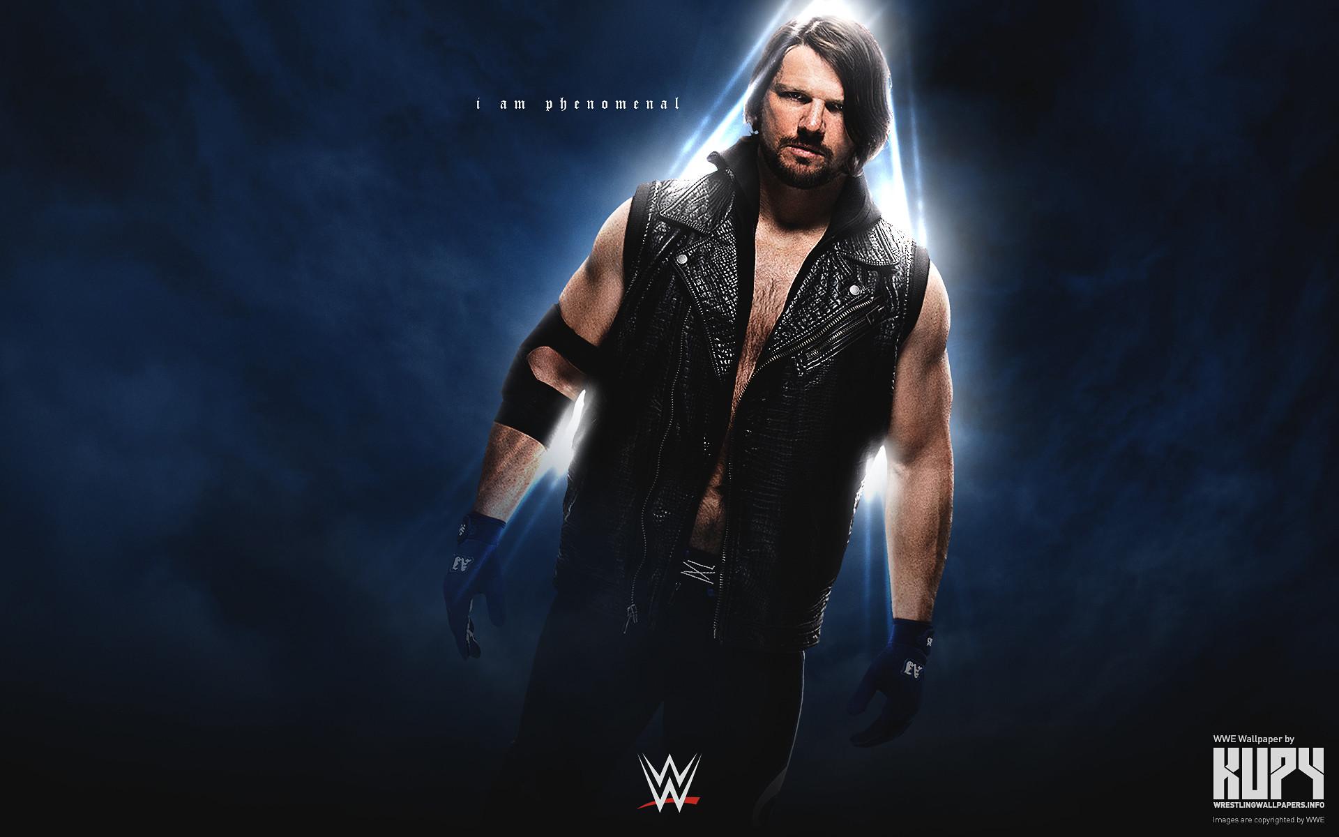 AJ Styles WWE wallpaper 1920×1200 …