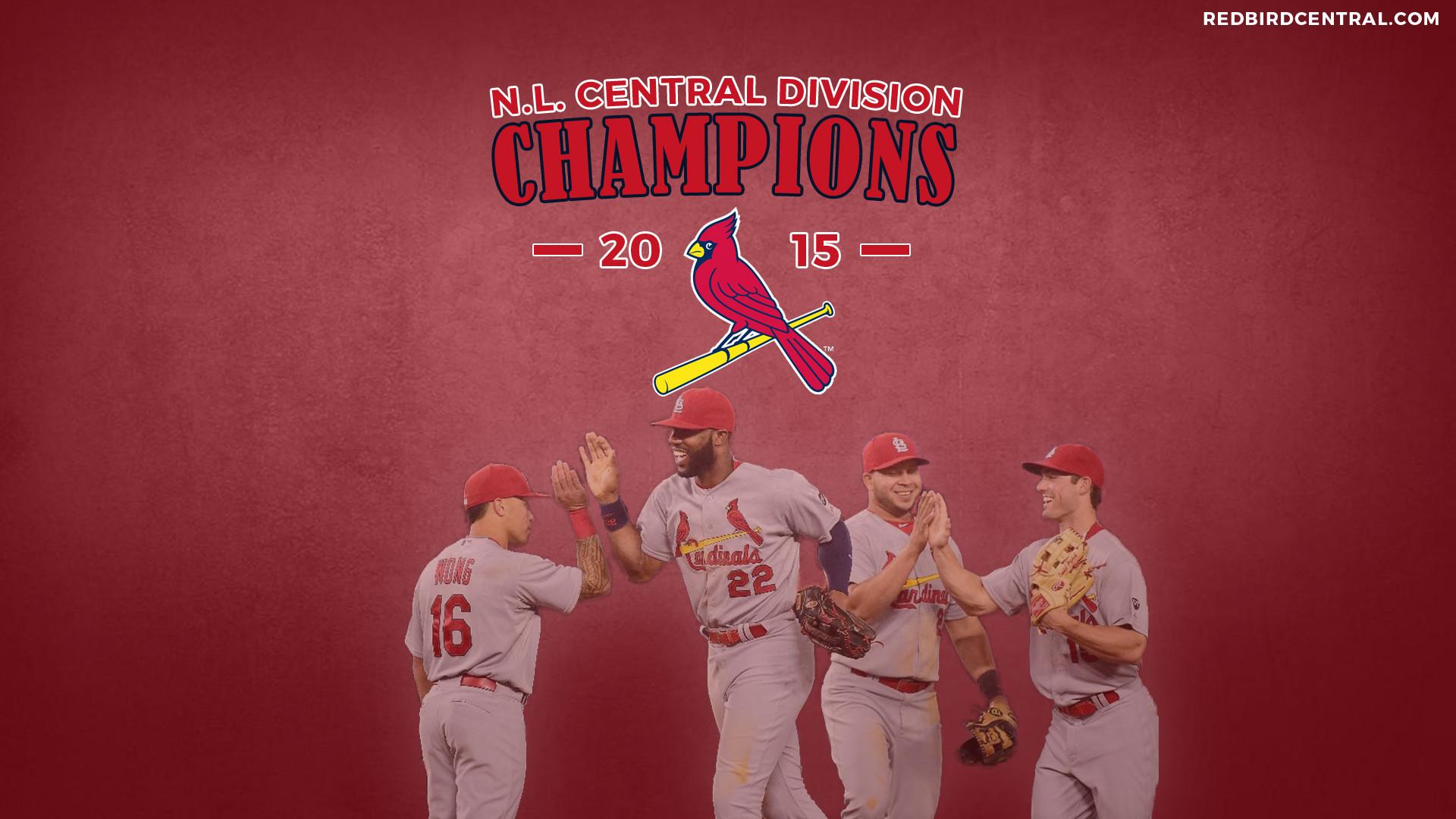 RedbirdCentral.com – St. Louis Cardinals Wallpaper – 2015 Central Division  Champions