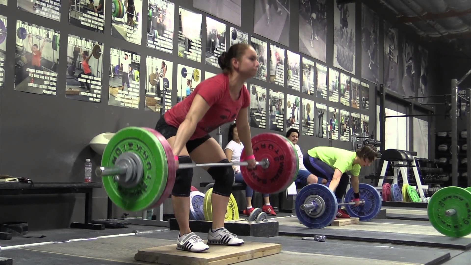 Olympic Weightlifting 3-19-15 – Snatch Pull on Riser, Snatch, Back Squat –  YouTube