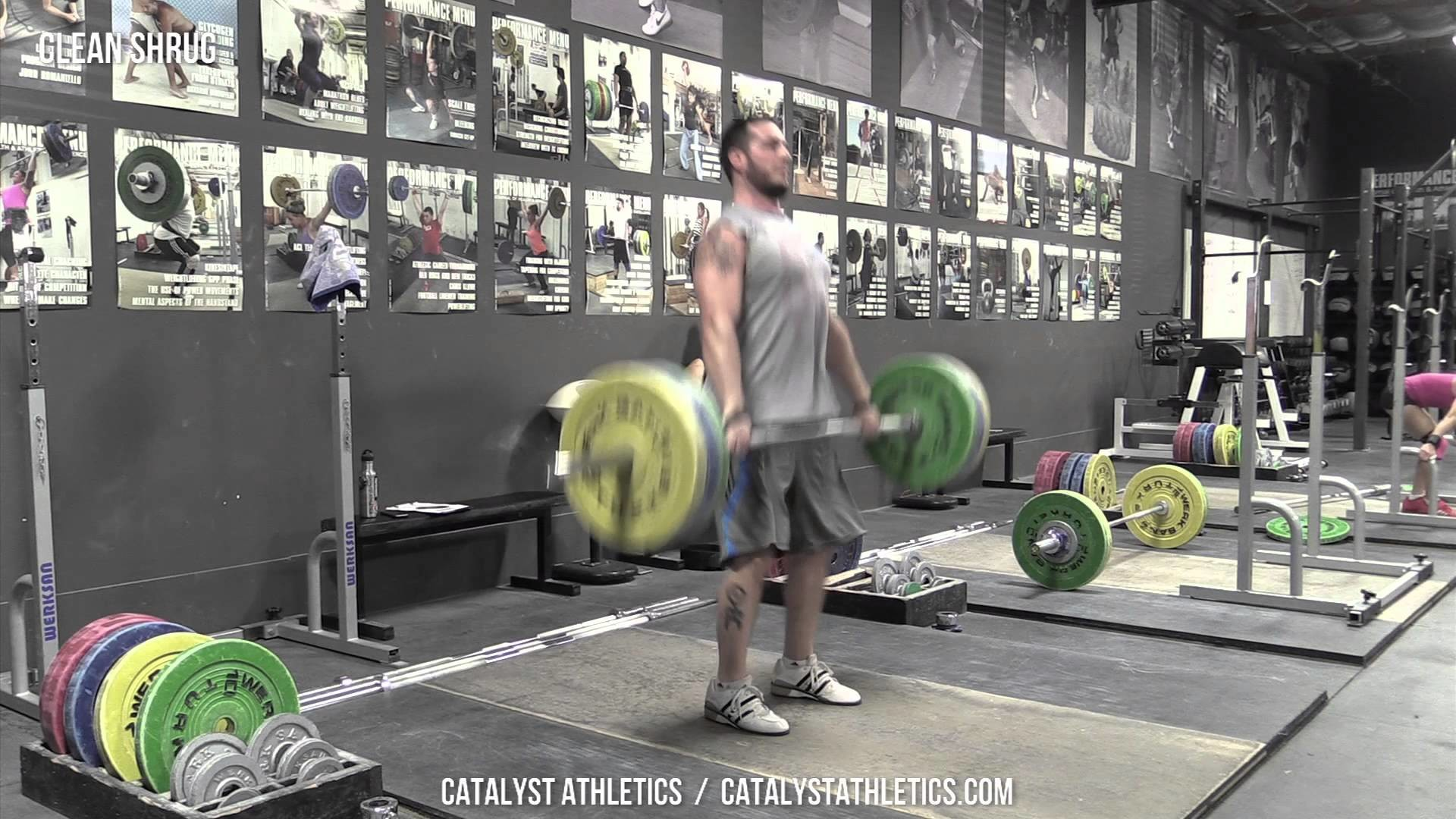 Clean Shrug – Olympic Weightlifting Exercise Library – Catalyst Athletics