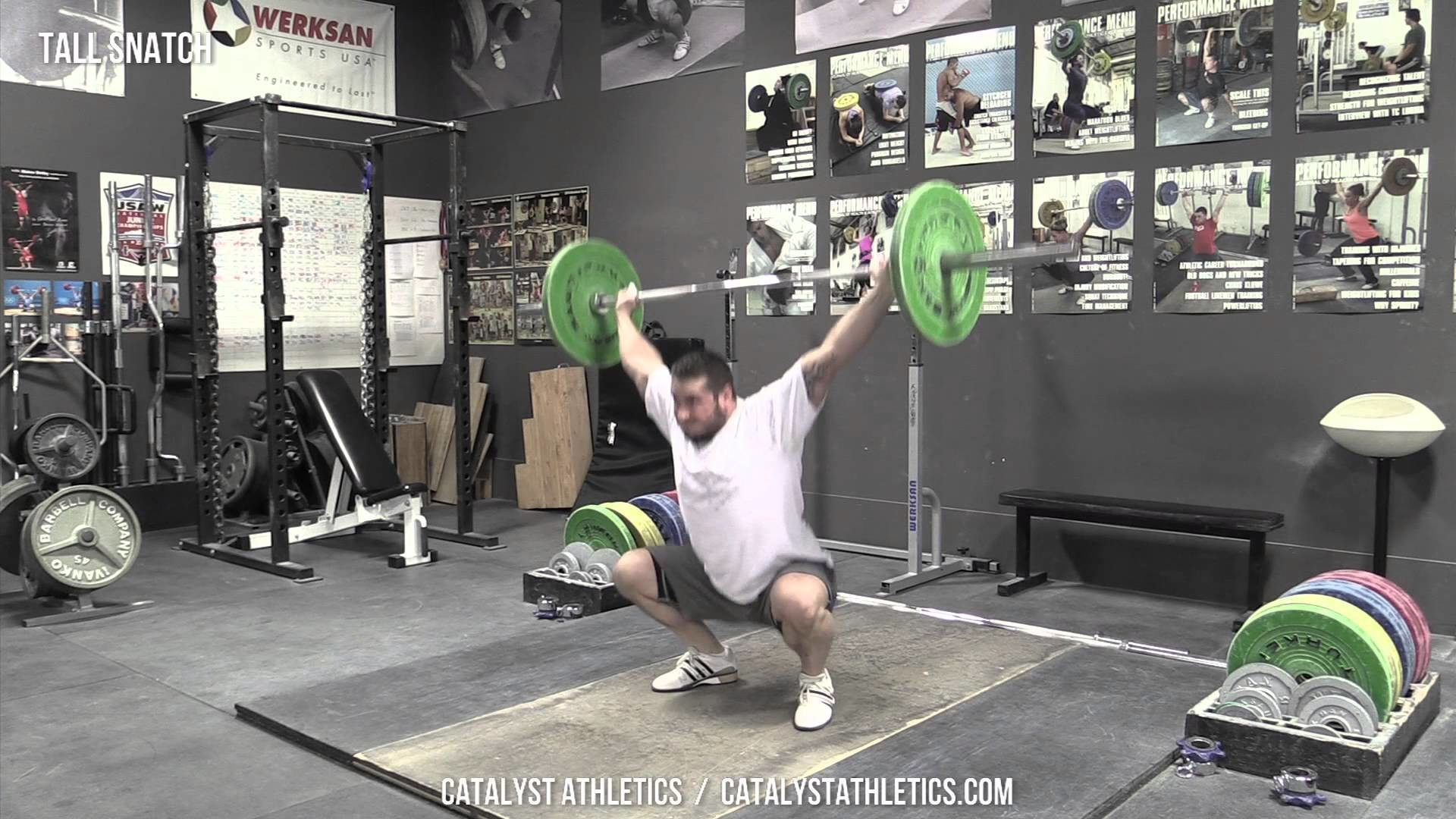 Tall Snatch – Olympic Weightlifting Exercise Library – Catalyst Athletics