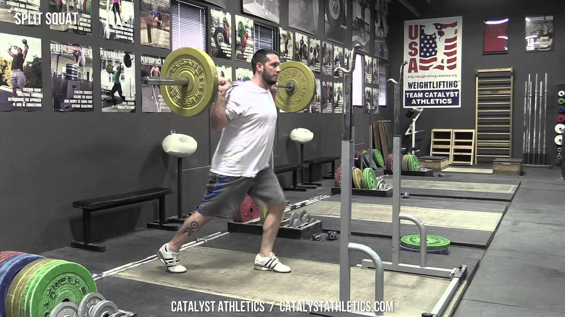 Split Squat – Exercise Library: Demo Videos, Information & Terminology –  Catalyst Athletics Olympic Weightlifting