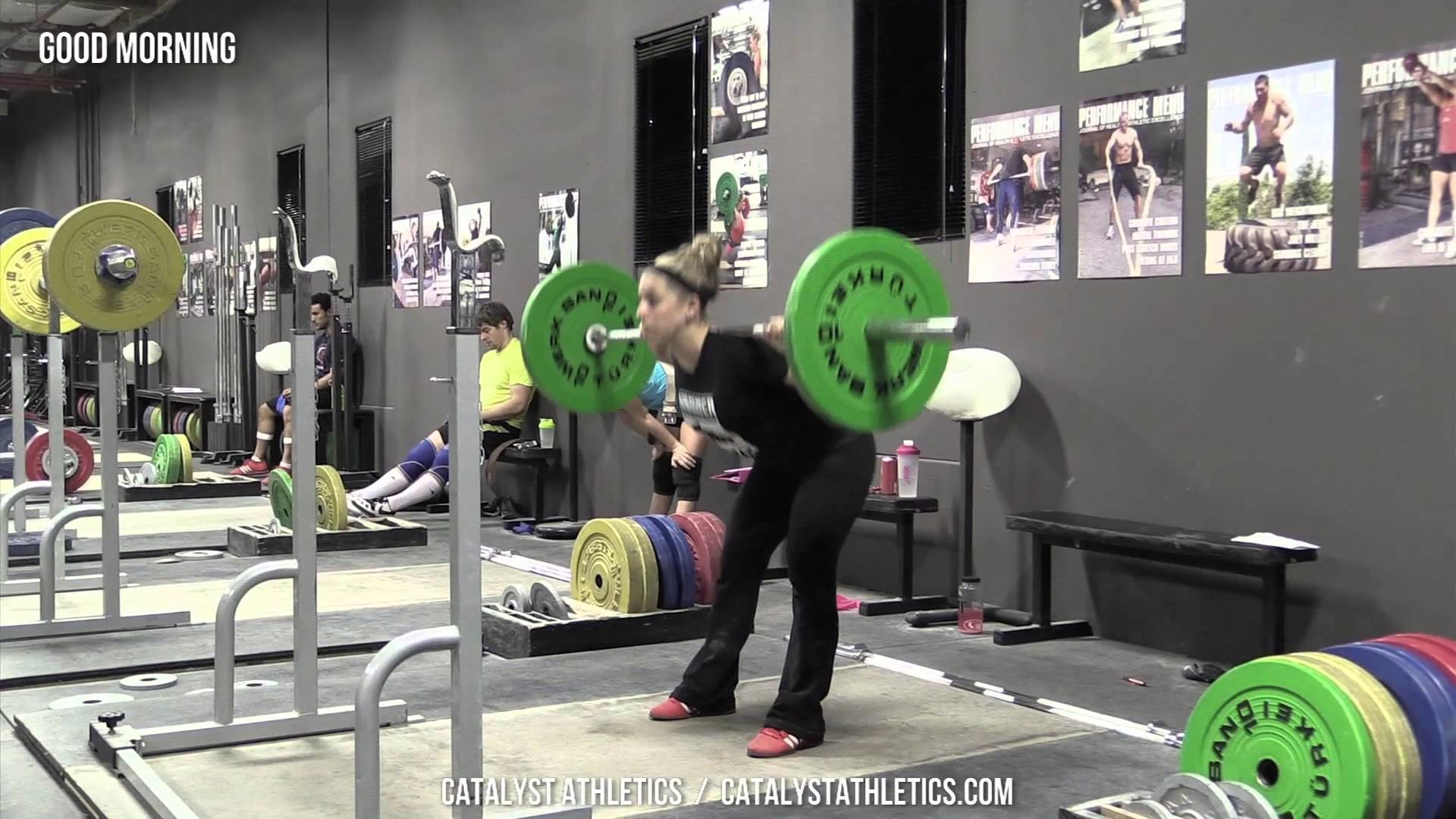 Good Morning – Olympic Weightlifting Exercise Library – Catalyst Athletics  – YouTube