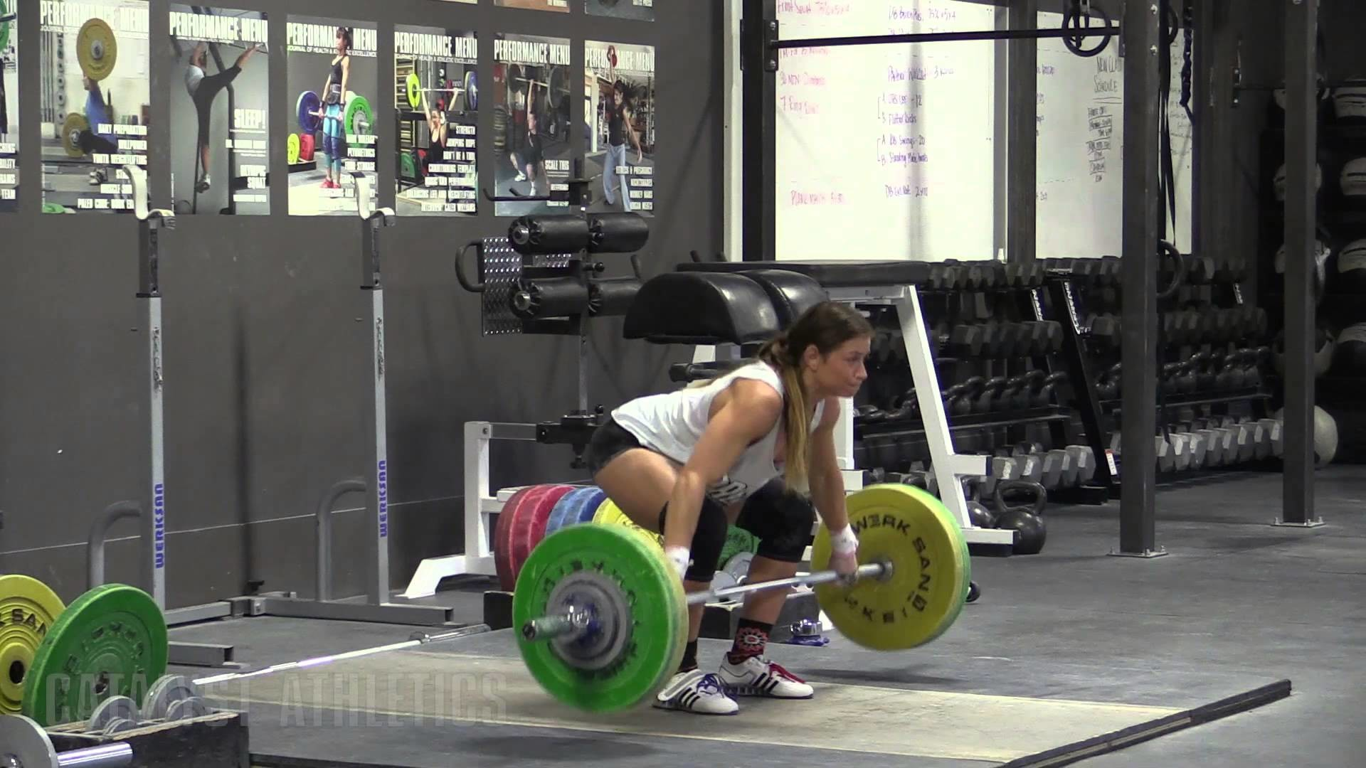 Jessica Lucero (58kg) – Snatch OTM And Block Clean Heavy Single – Olympic  Weightlifting & Instructional Video – Catalyst Athletics
