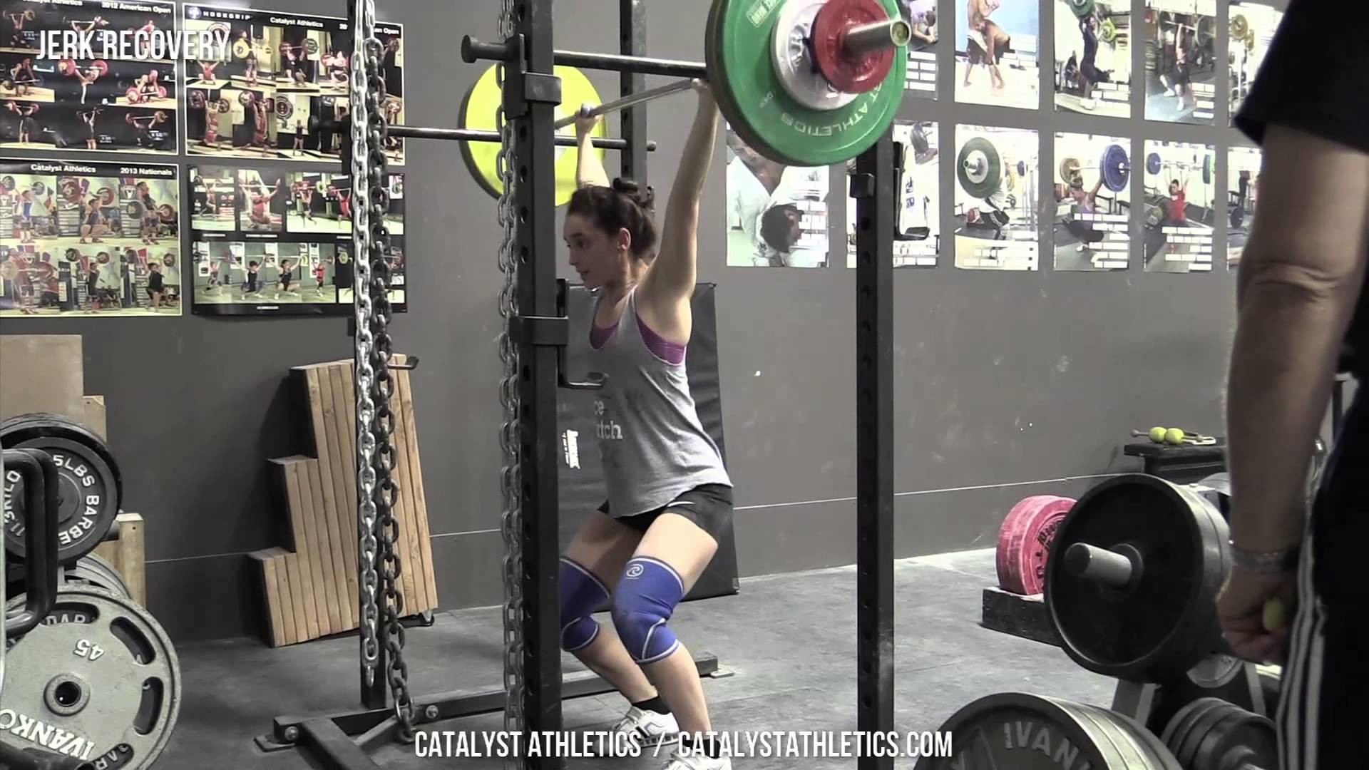 Jerk Recovery – Exercise Library: Demo Videos, Information & Terminology –  Catalyst Athletics Olympic Weightlifting
