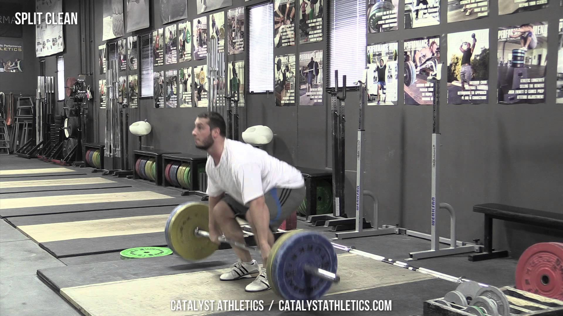 Split Clean – Exercise Library: Demo Videos, Information & Terminology –  Catalyst Athletics Olympic Weightlifting