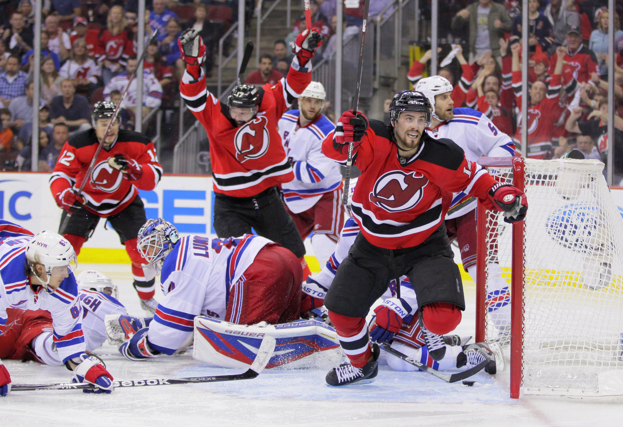 New York Rangers vs New Jersey Devils at Prudential Center