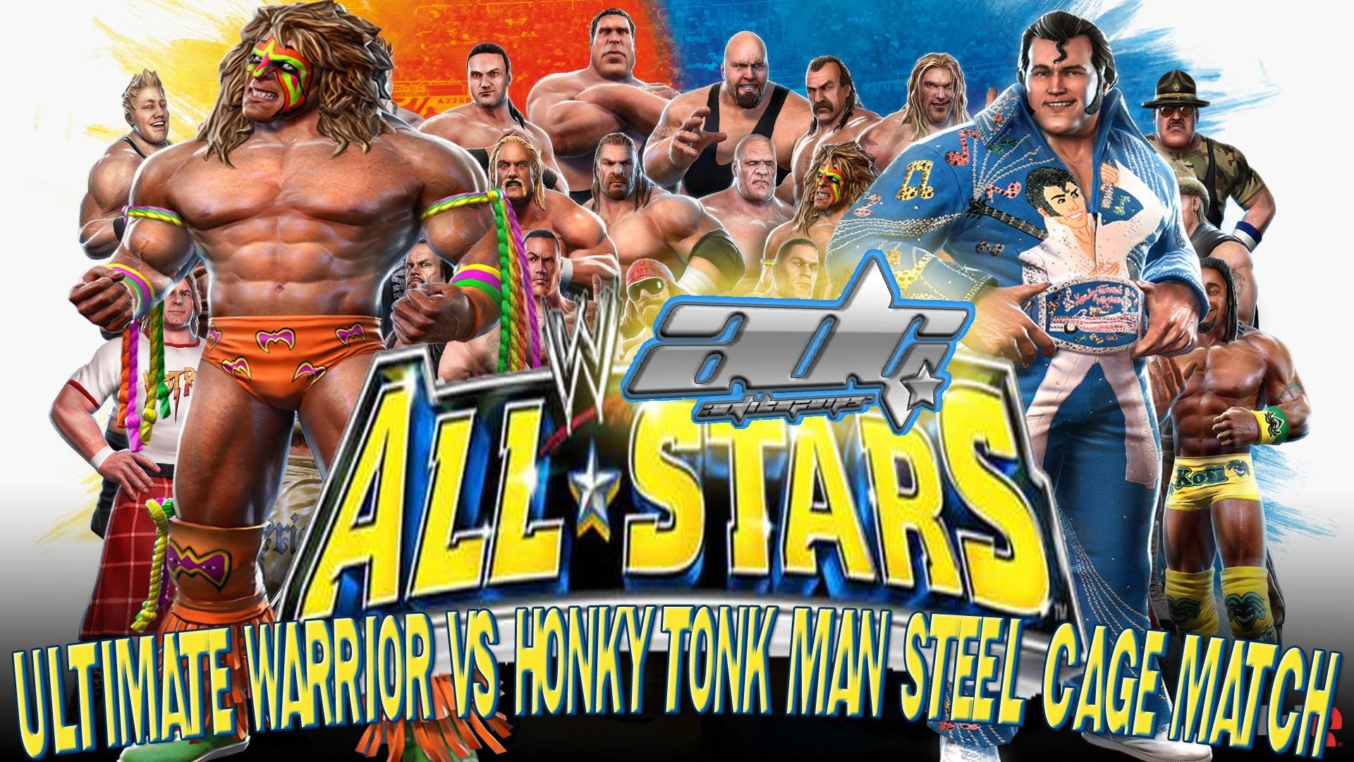 Silent But Deadly Games – WWE All-Stars: Ultimate Warrior vs Honky Tonk Man  Steel Cage Match – YouTube