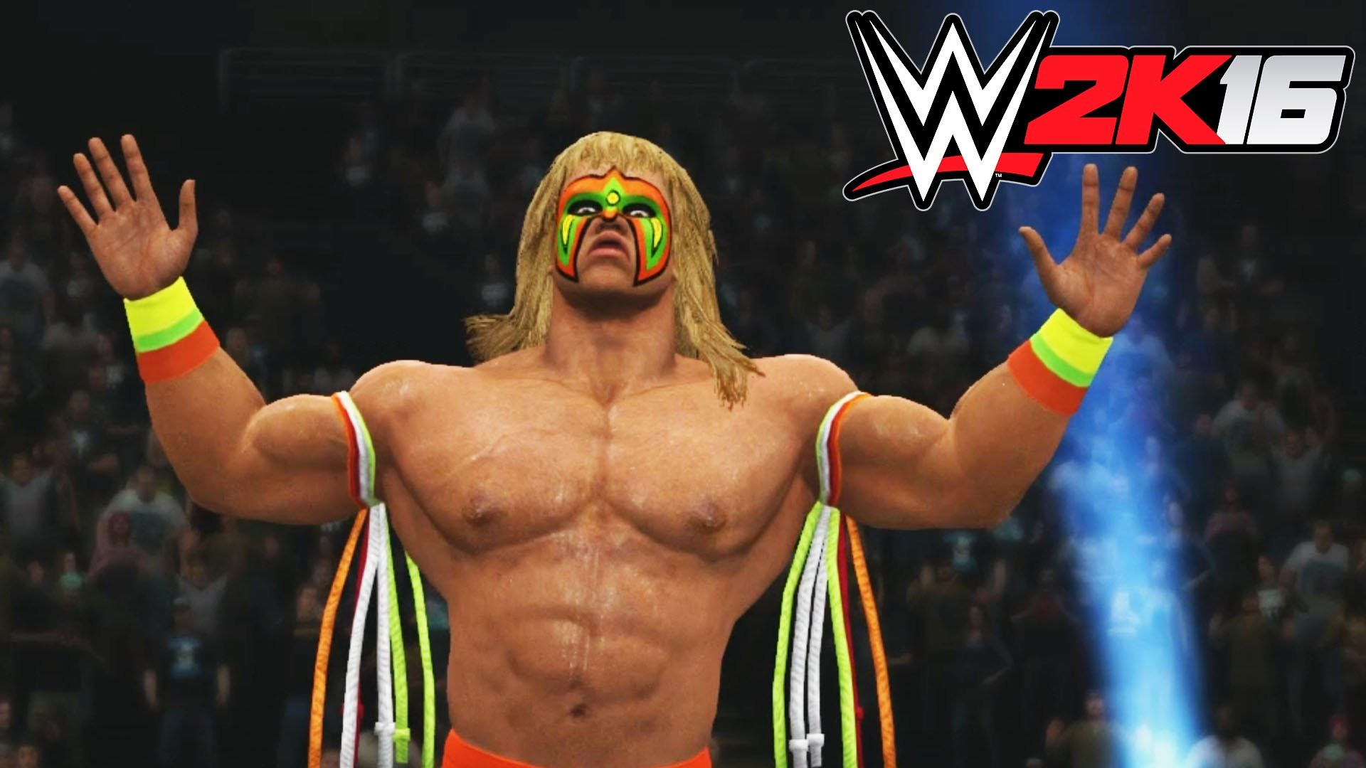 WWE 2K16 – X360 PS3 Gameplay (XBOX 360 720P) Ultimate Warrior vs Mankind