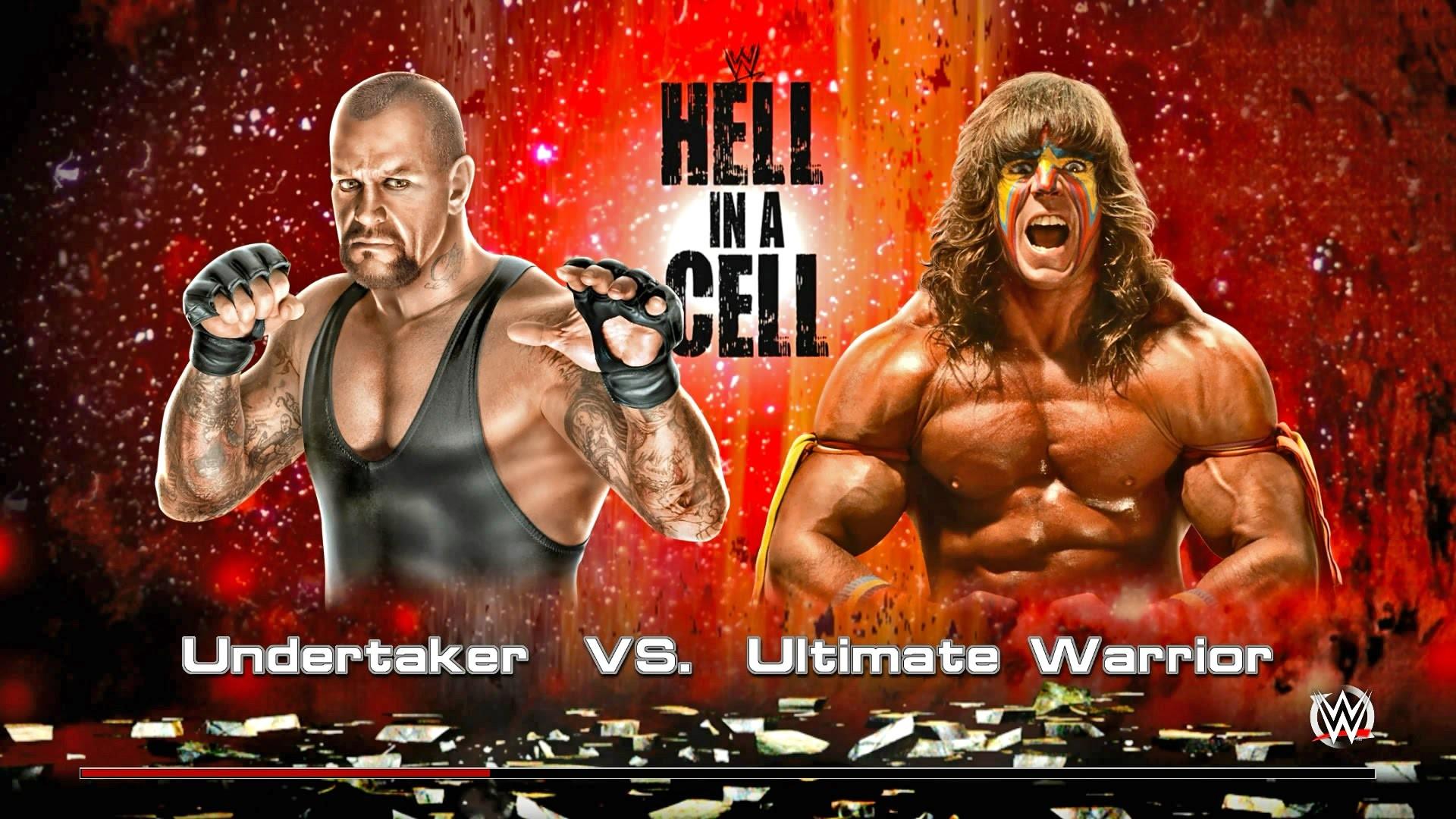 WWE 2k15 – Undertaker vs Ultimate Warrior