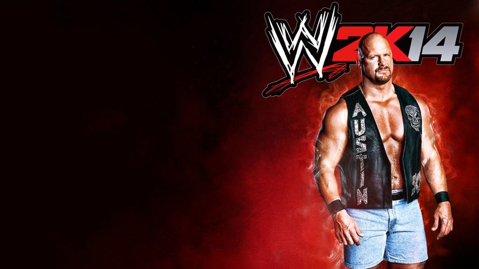 stone cold wwe hd background wallpaper