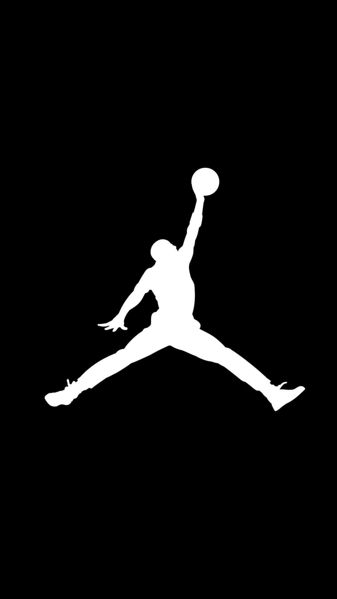 Michael Jordan NBA iPhone Wallpaper Black and White