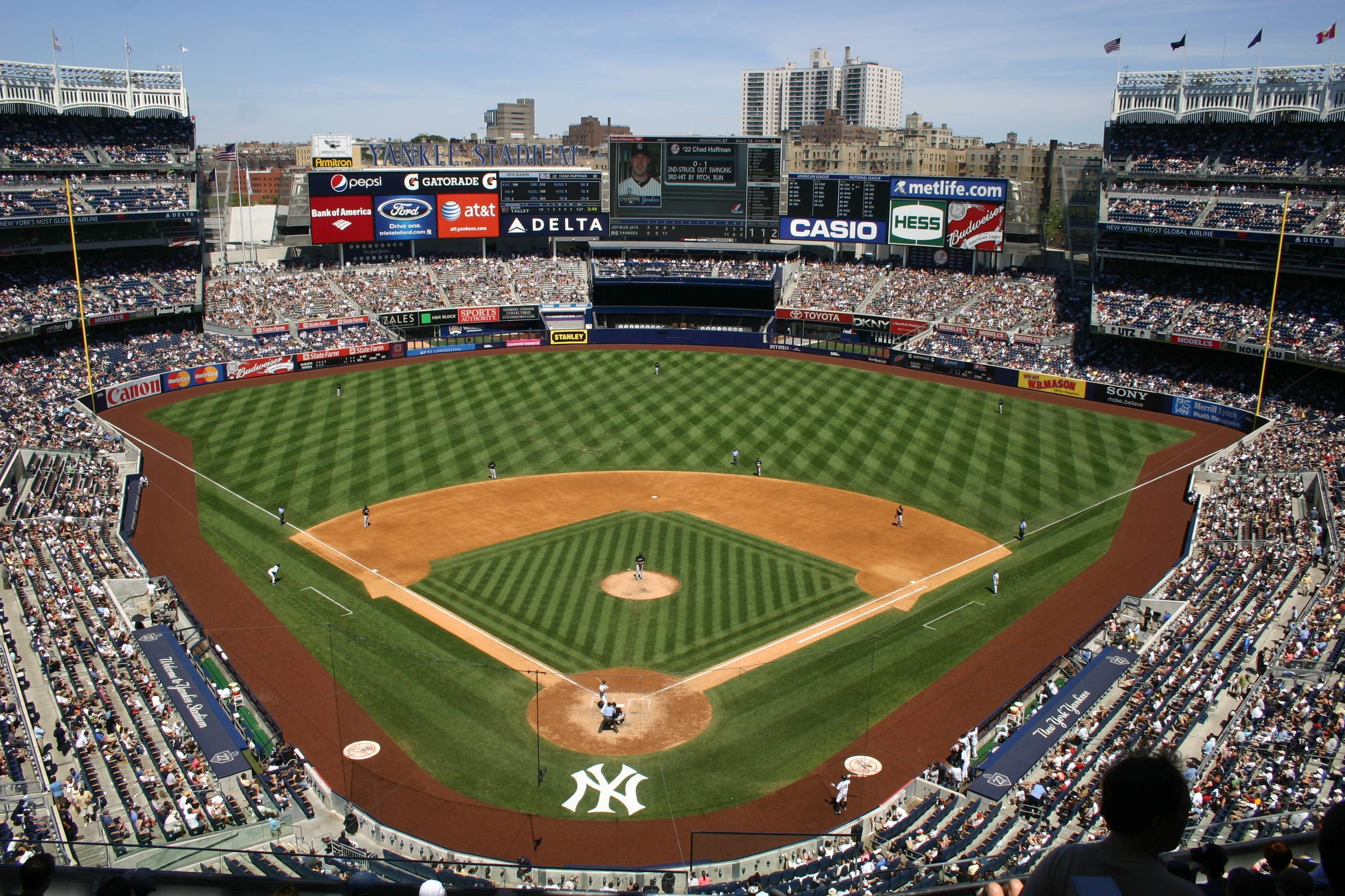 New York Yankees Stadium Wallpaper – Viewing Gallery