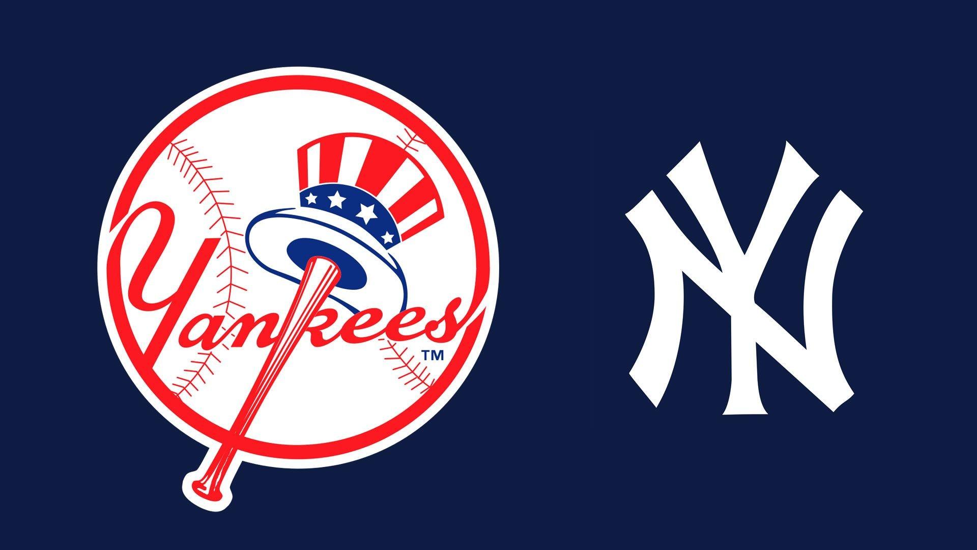 MLB New York Yankees Logo – – Full HD 16/9 – Wallpaper .