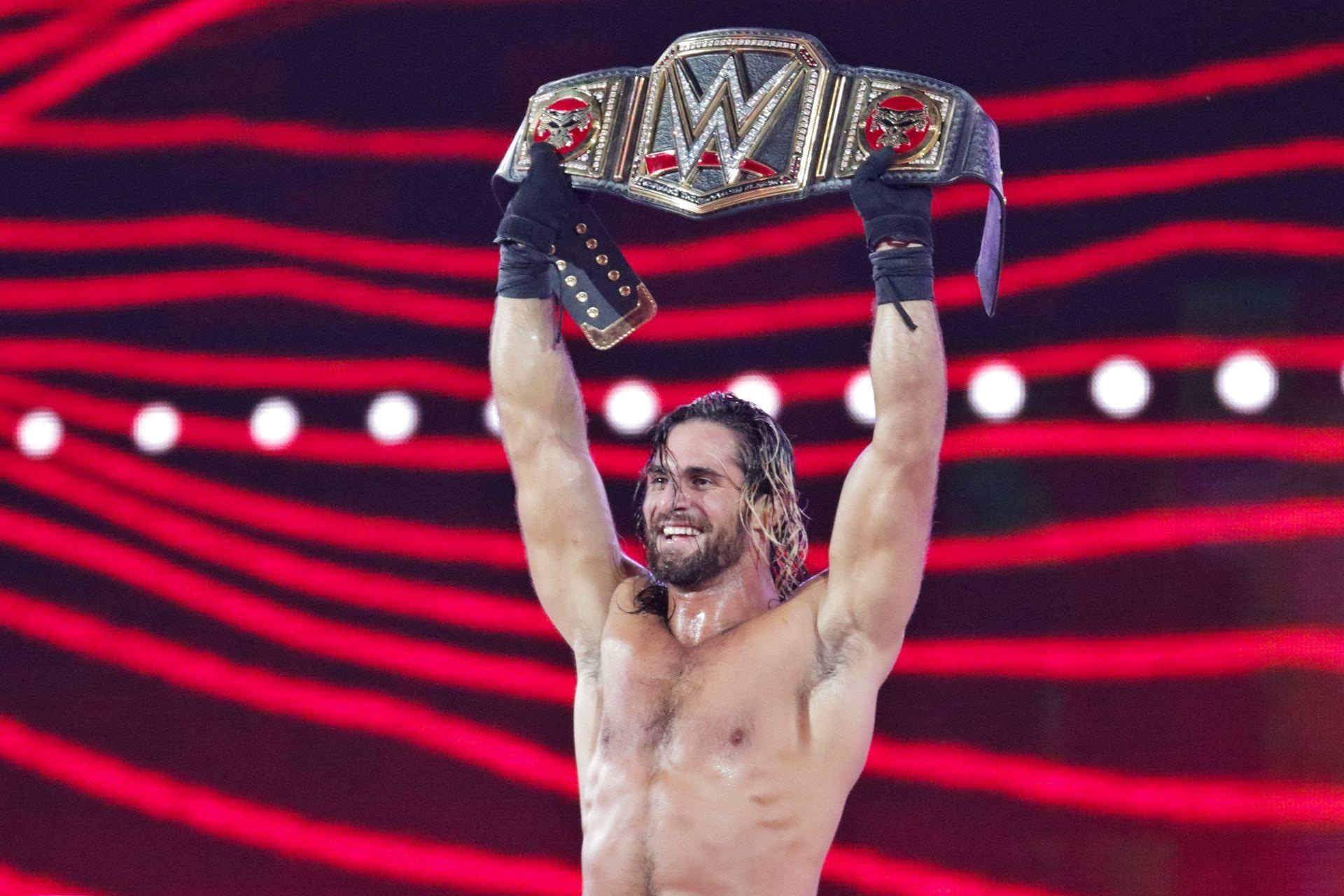 … Seth Rollins Winning A Belt HD Wallpaper #05968
