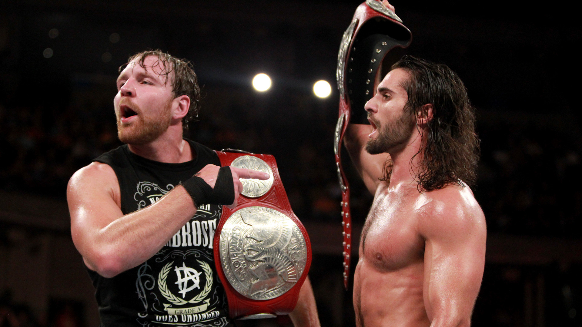 Seth Rollins has been jaw-jacking with The Usos all weekend, but he and  Dean Ambrose might have a far more present danger to worry about, as The  Kingslayer …