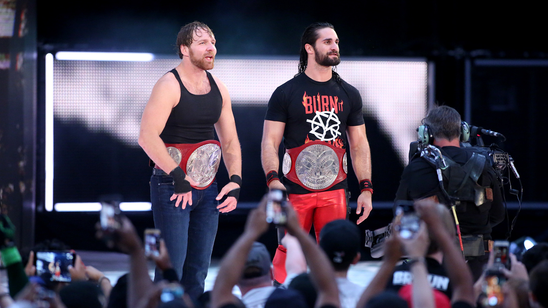 Seth Rollins & Dean Ambrose def. The Hardys The band is back together, and  the dream matches have already begun. Dean Ambrose & Seth Rollins opened  their …