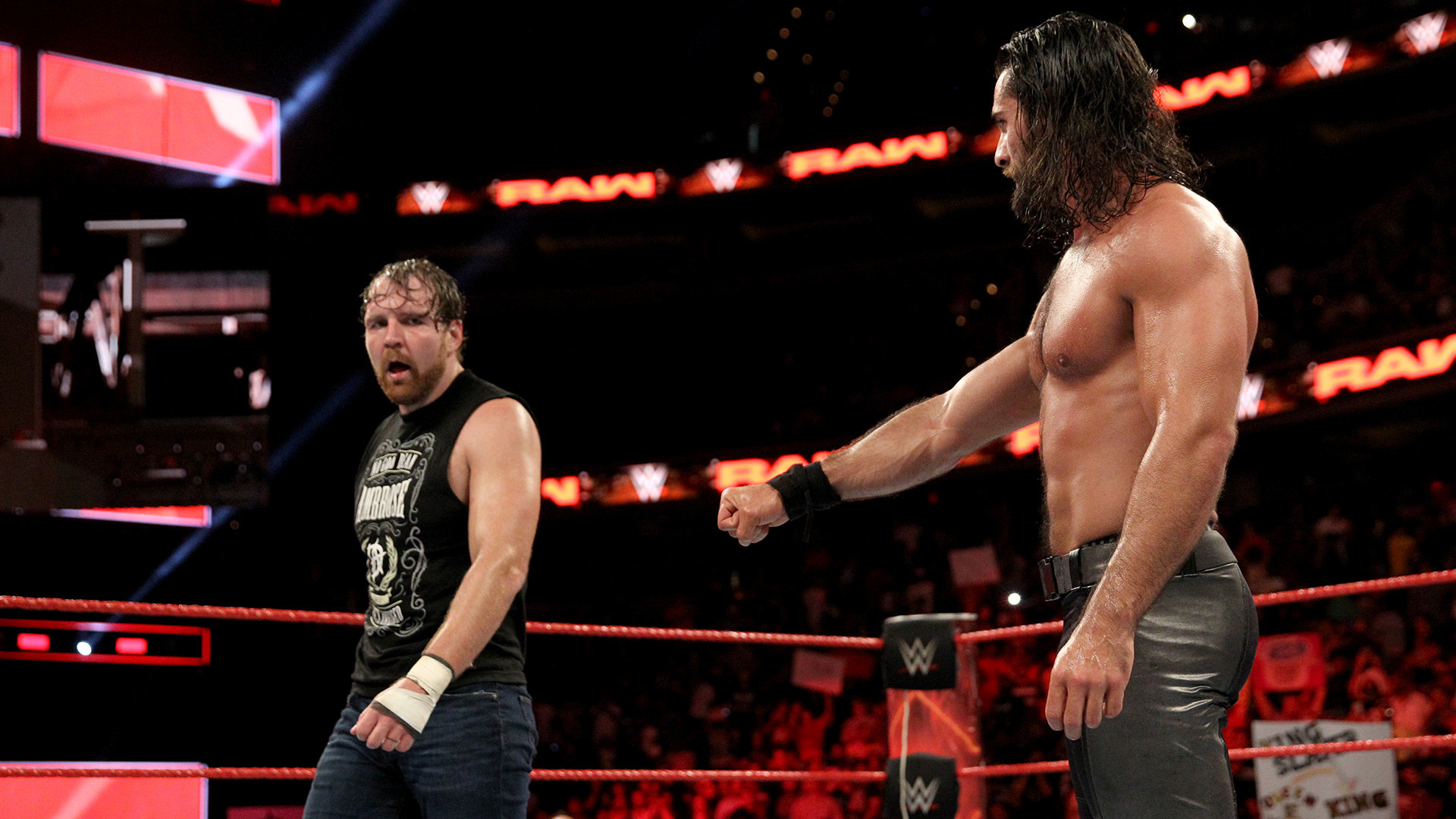 Seth Rollins & Dean Ambrose def. The Miz-tourage. So, can Dean Ambrose and Seth  Rollins co-exist? Yes! But have they truly moved on from past events?