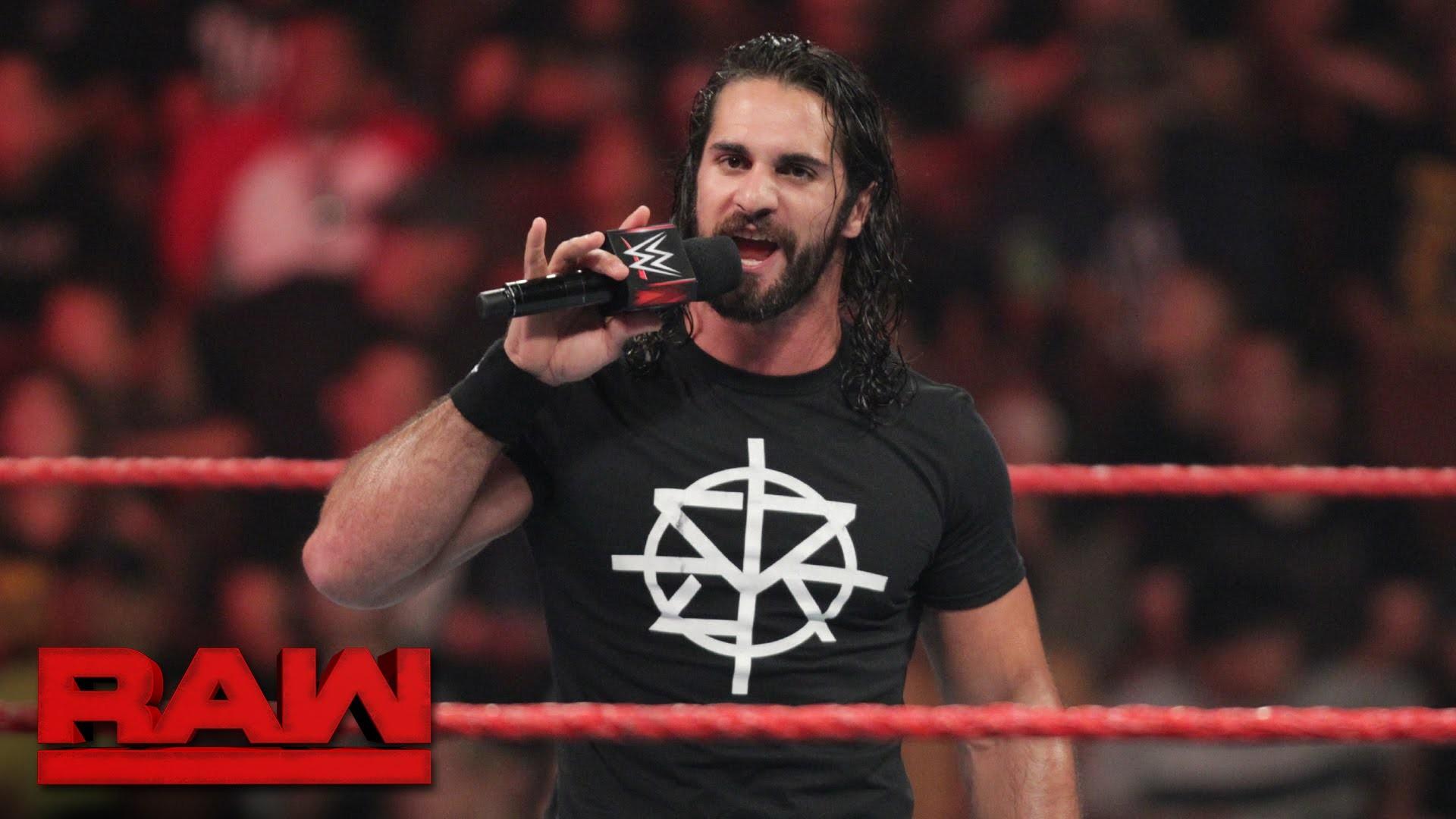 Seth Rollins lässt sich vom 'Demon King' nicht einschüchtern: Raw, 8.  August 2016 – YouTube