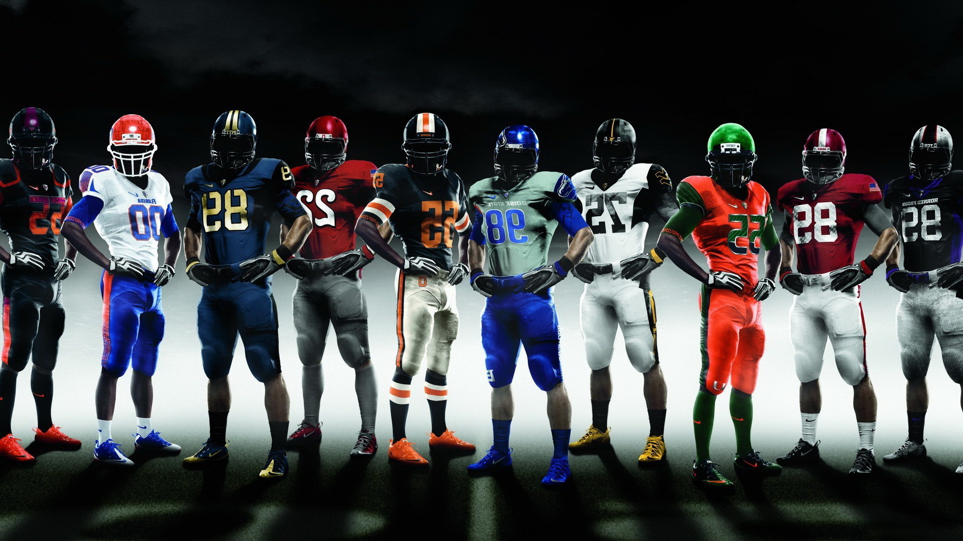 College Football Team Wallpapers Tags: college football teams