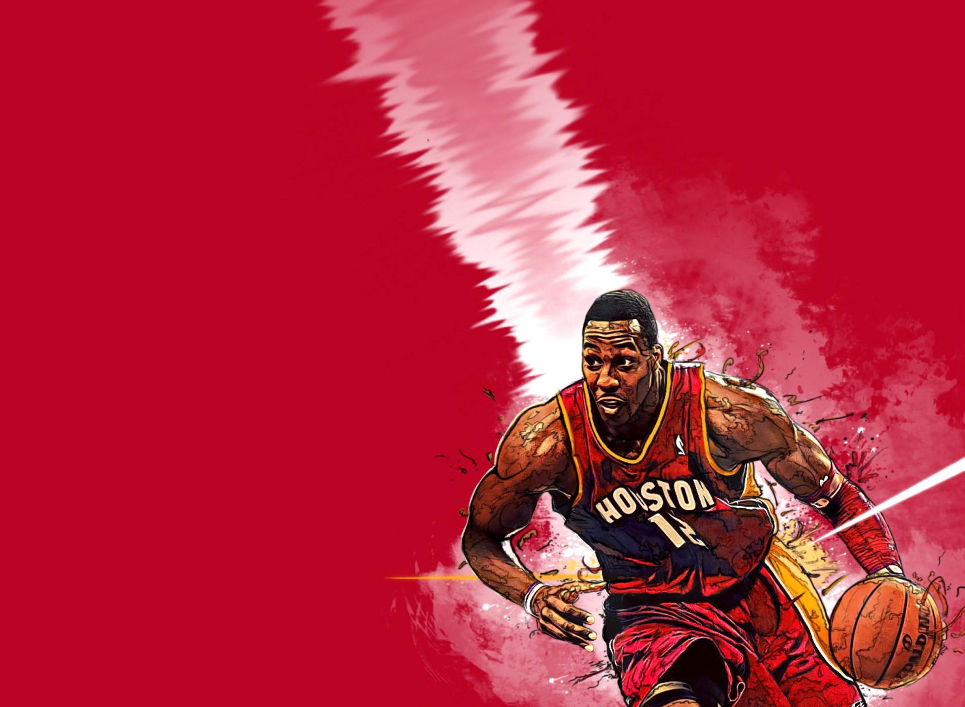 Houston Rockets Art Wallpaper
