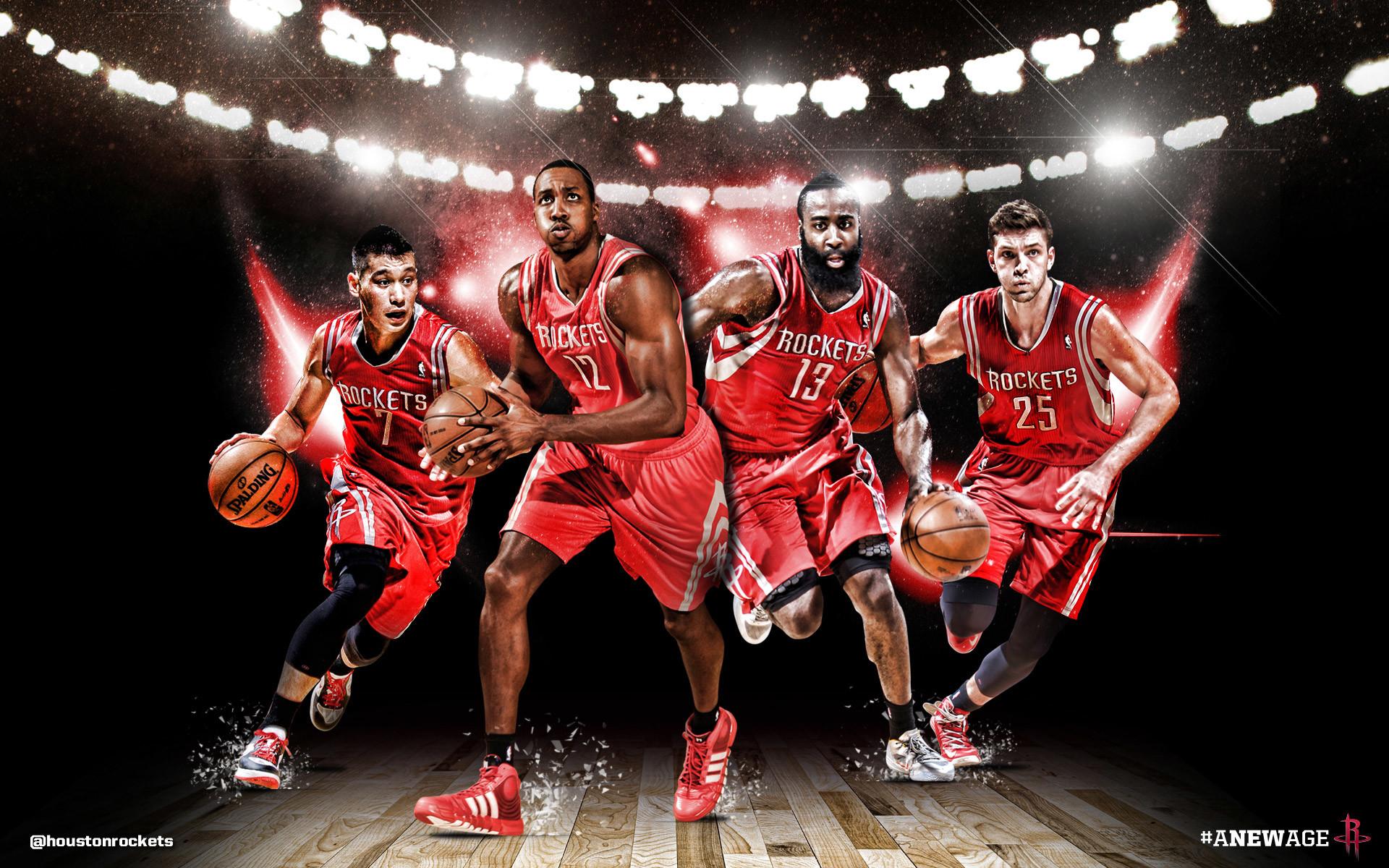 Houston Rockets Big 4 2013 Wallpaper