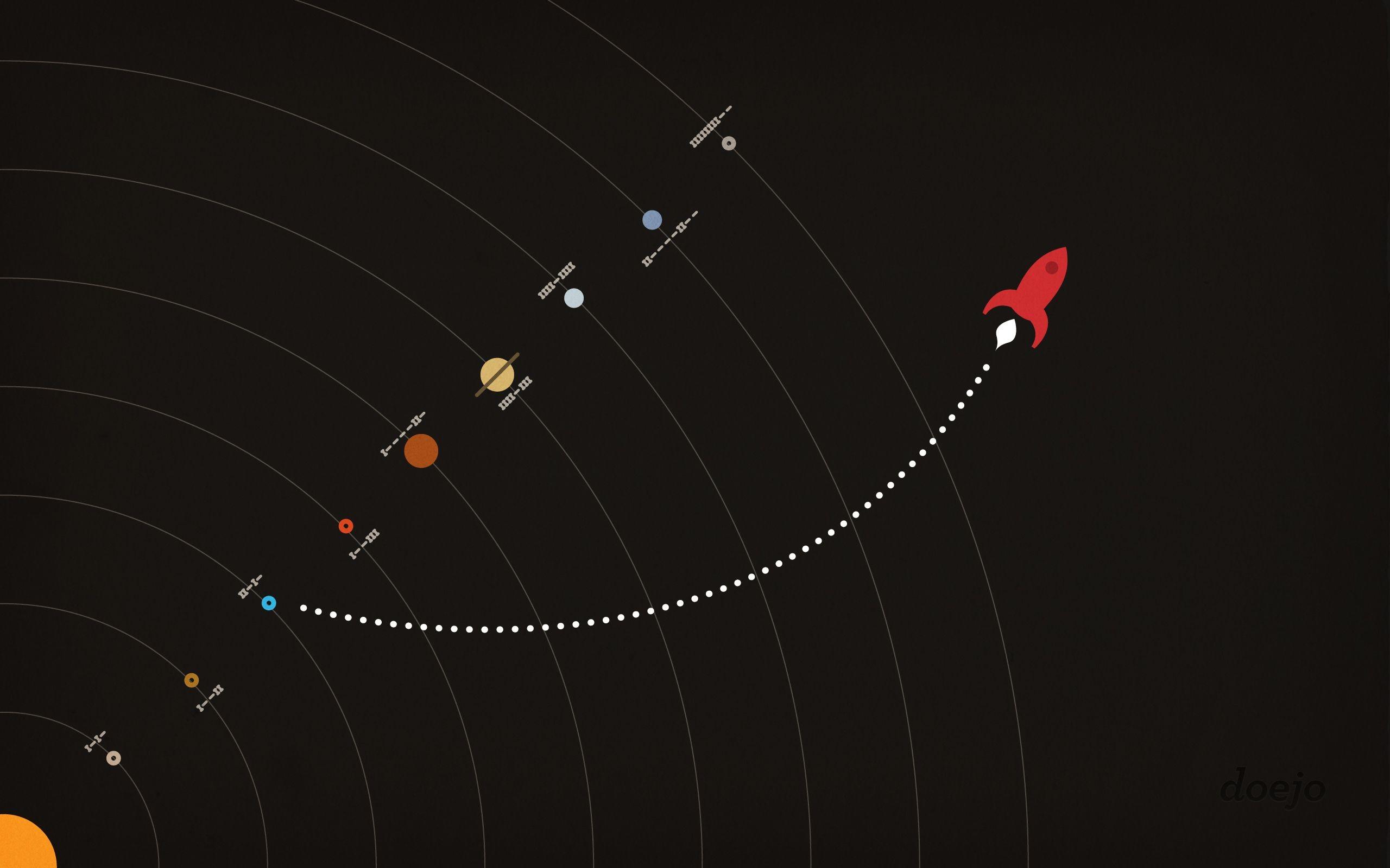 Doejo rockets for your desktop