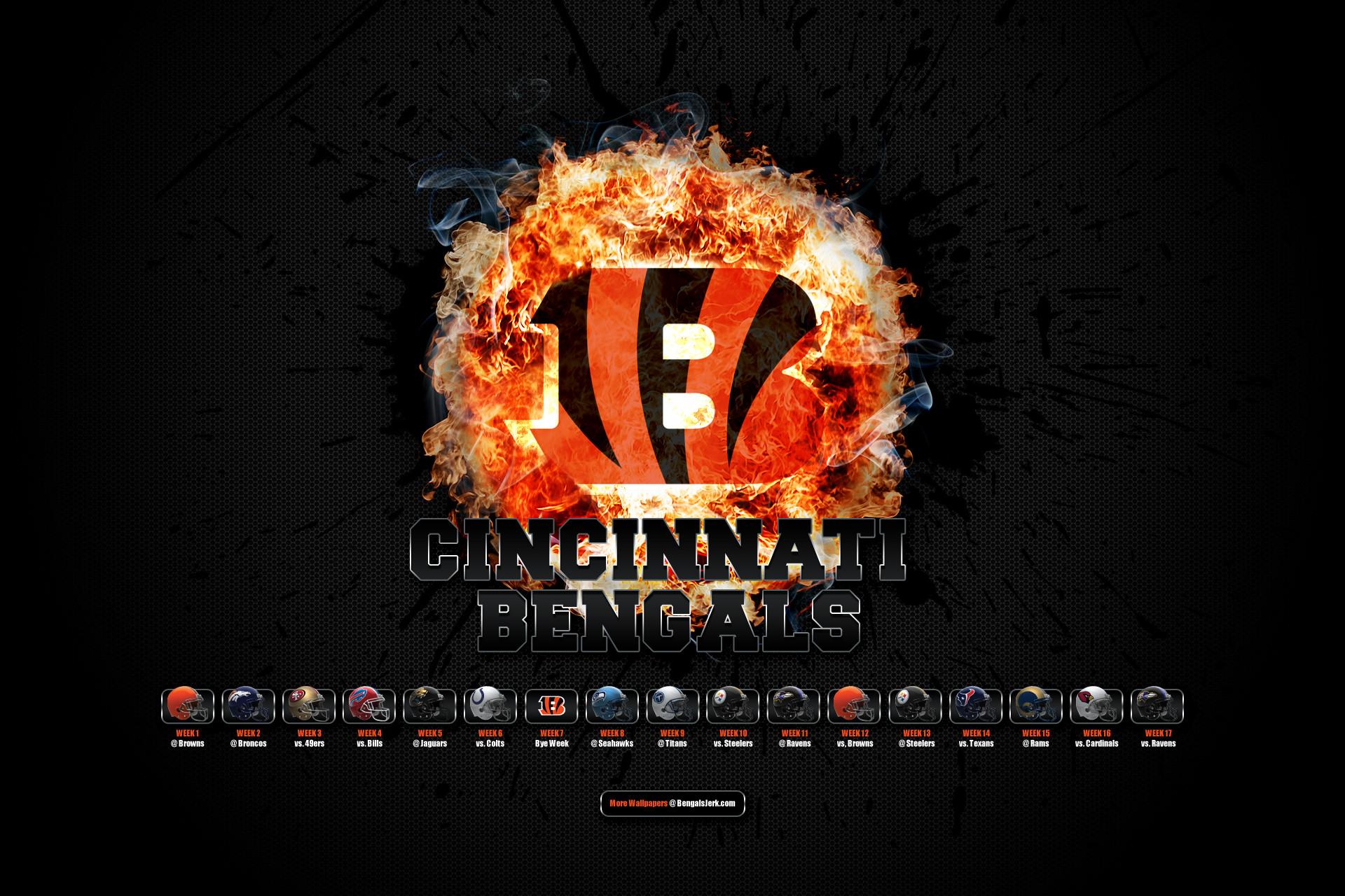 Cincinnati Bengals Backgrounds (64 Wallpapers)