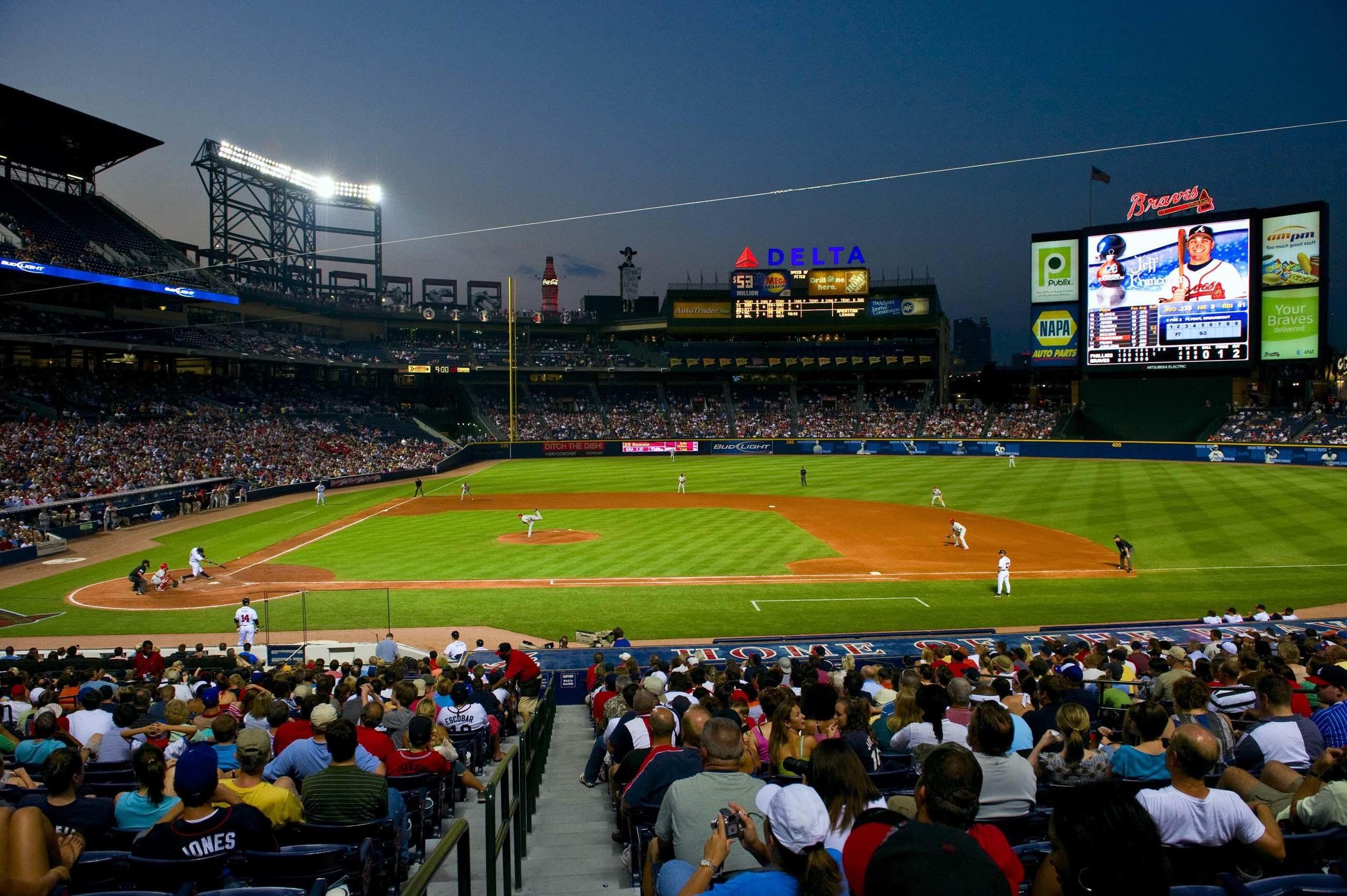 Atlanta Braves Turner Field Wallpaper HD – Daily Backgrounds in HD